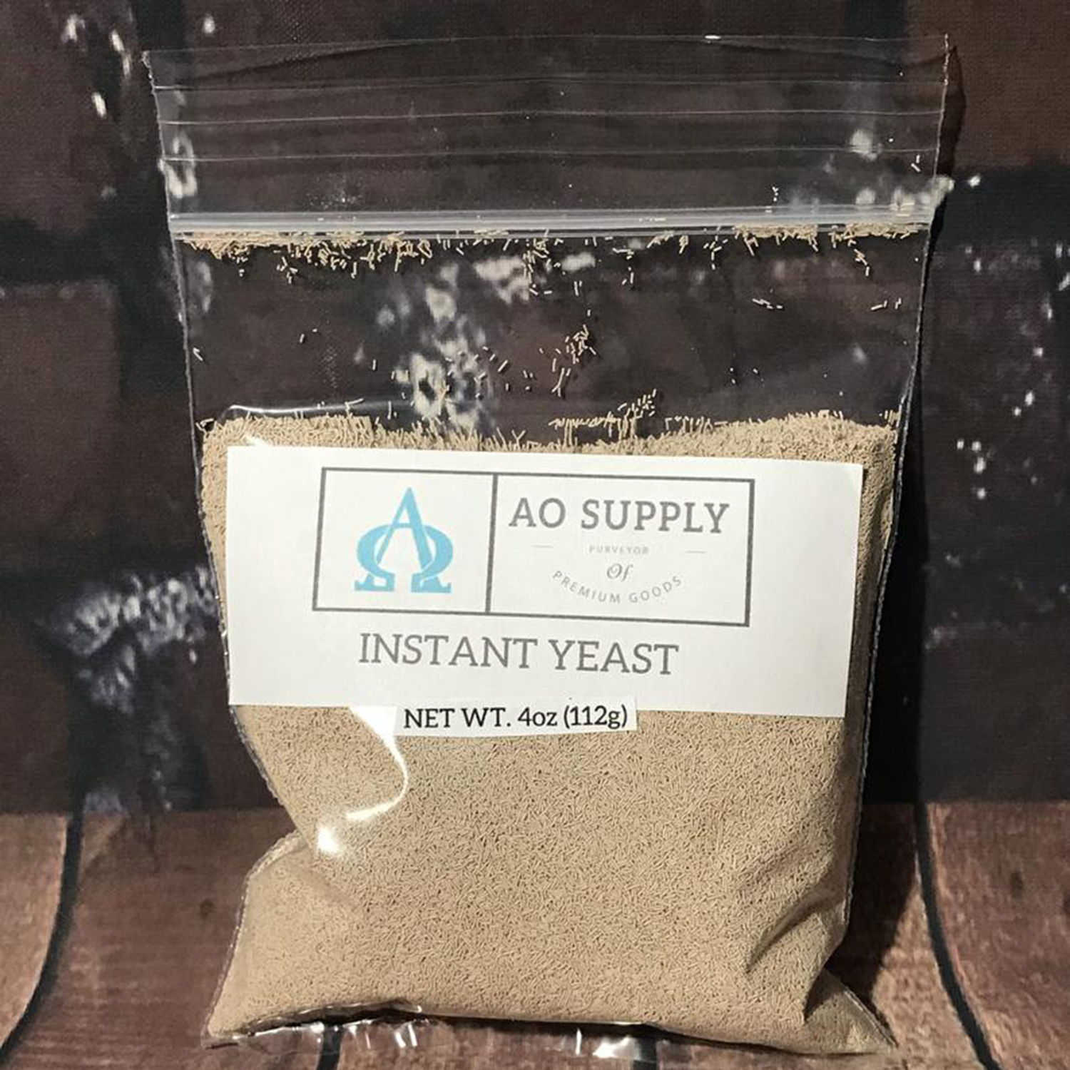 4oz Instant Dry Yeast Resealable Bag