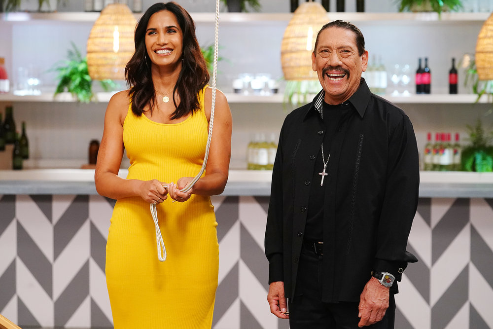 Padma and Danny Trejo