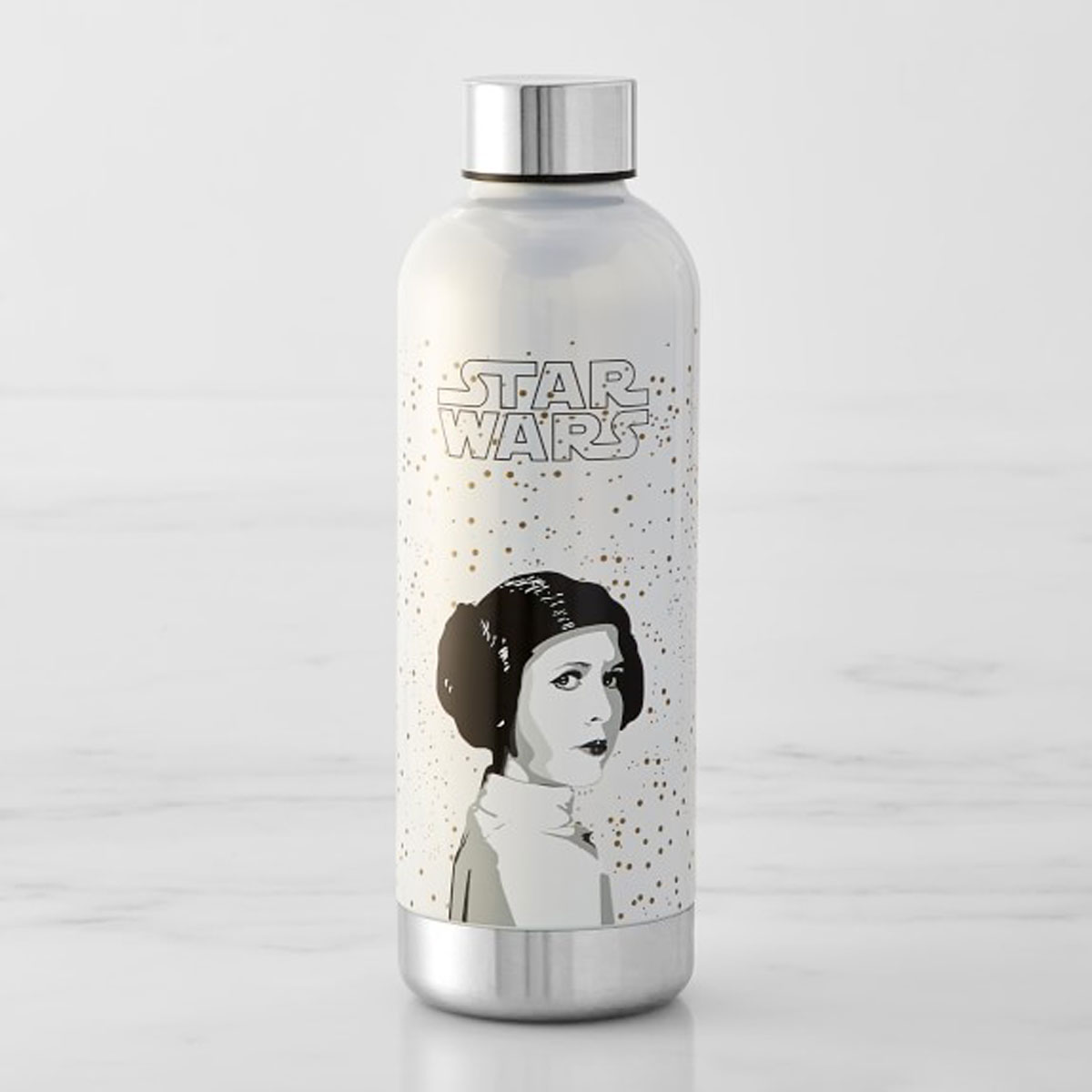 Star wars leia water bottle