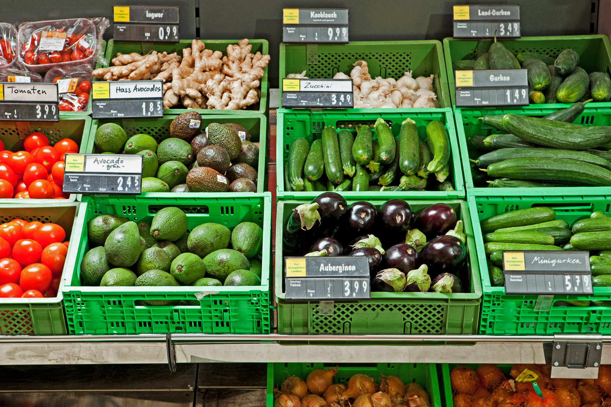April Biggest One-Month Increase in Grocery Prices