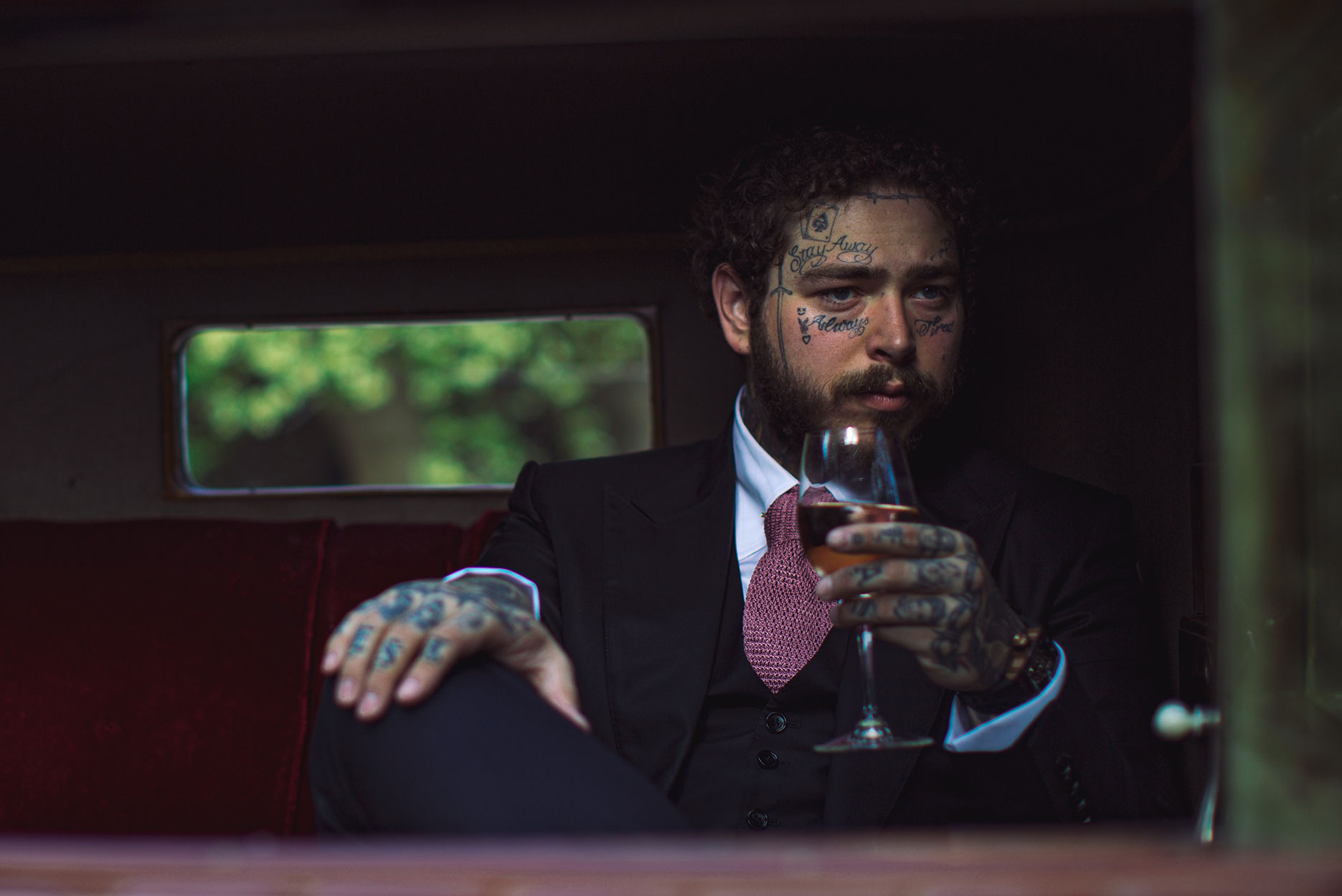 Post Malone launches French rose Maison No. 9