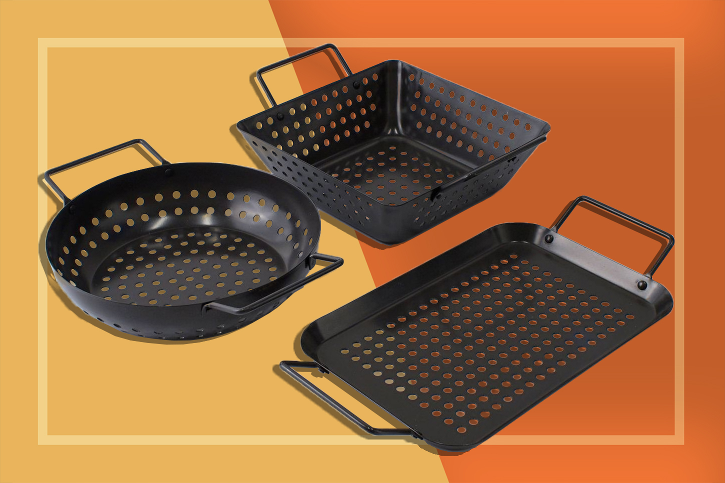 Grilling Baskets and Trays