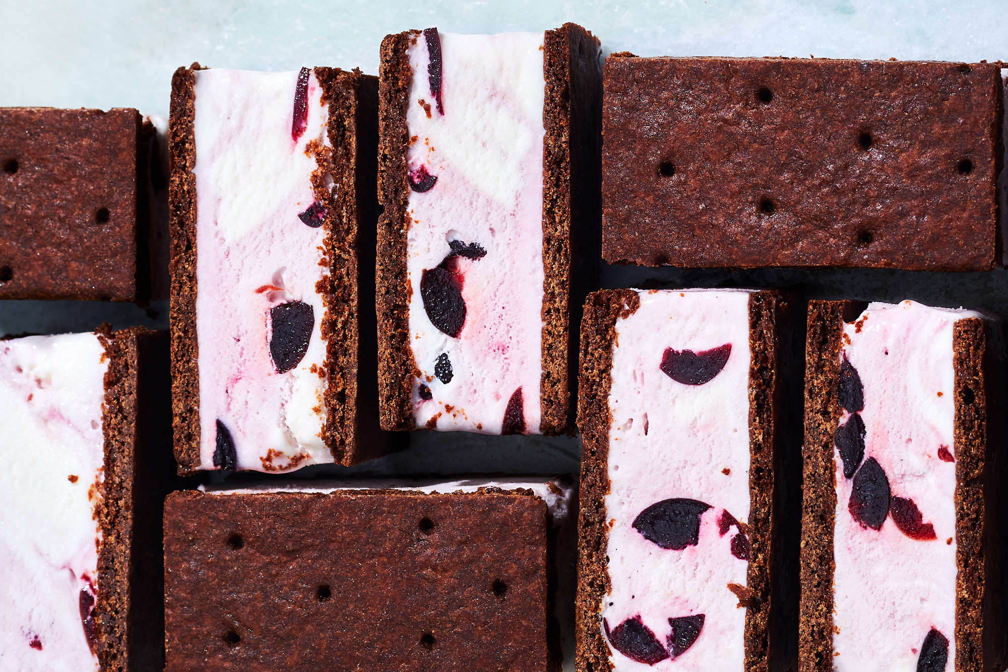 Black Cherry Chocolate Ice Cream Sandwiches Recipe