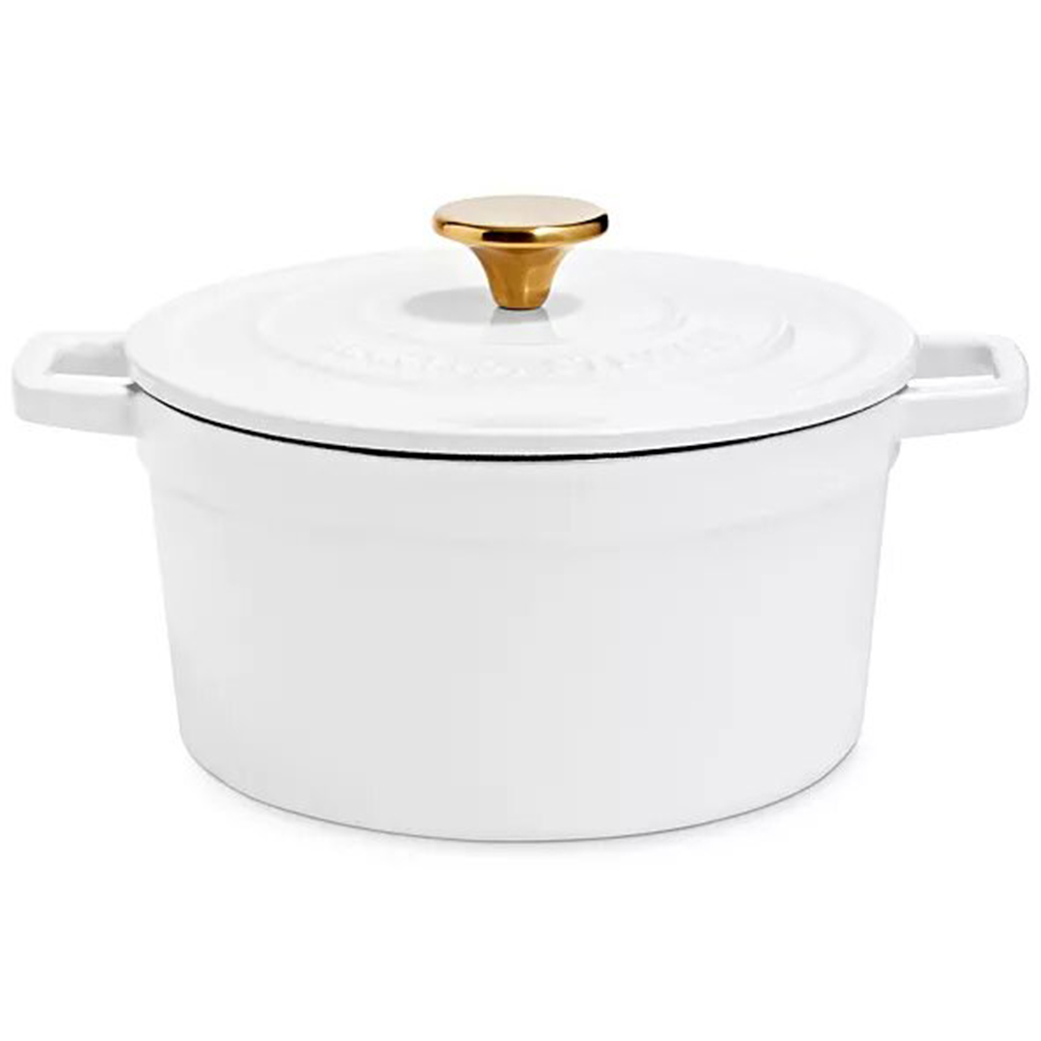 Martha Stewart Collection 4-Qt. Enameled Cast Iron Round Dutch Oven