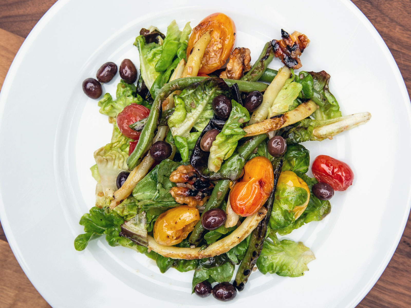 Grilled Garden Vegetable Salad