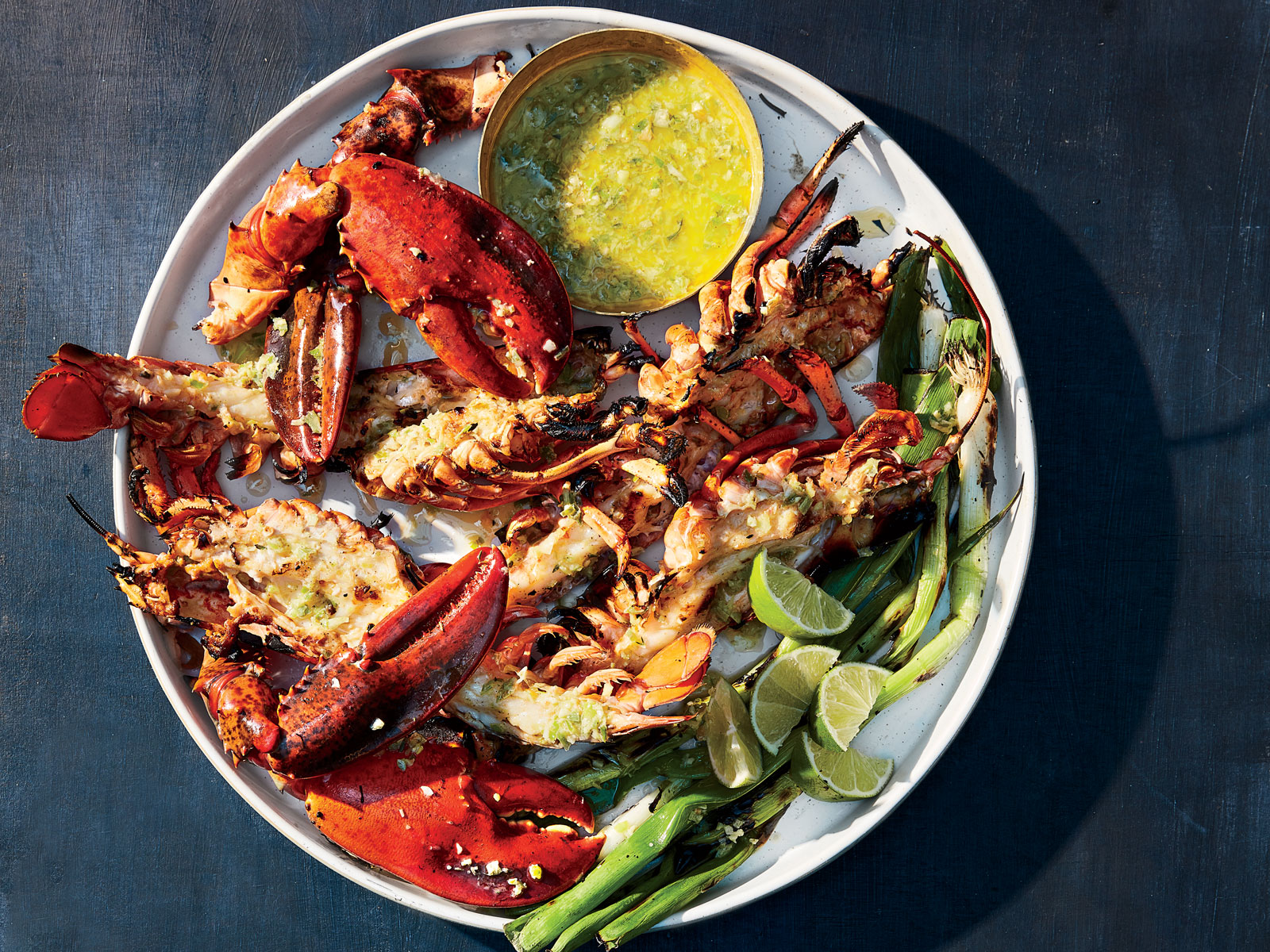 Jerk-Grilled Lobster