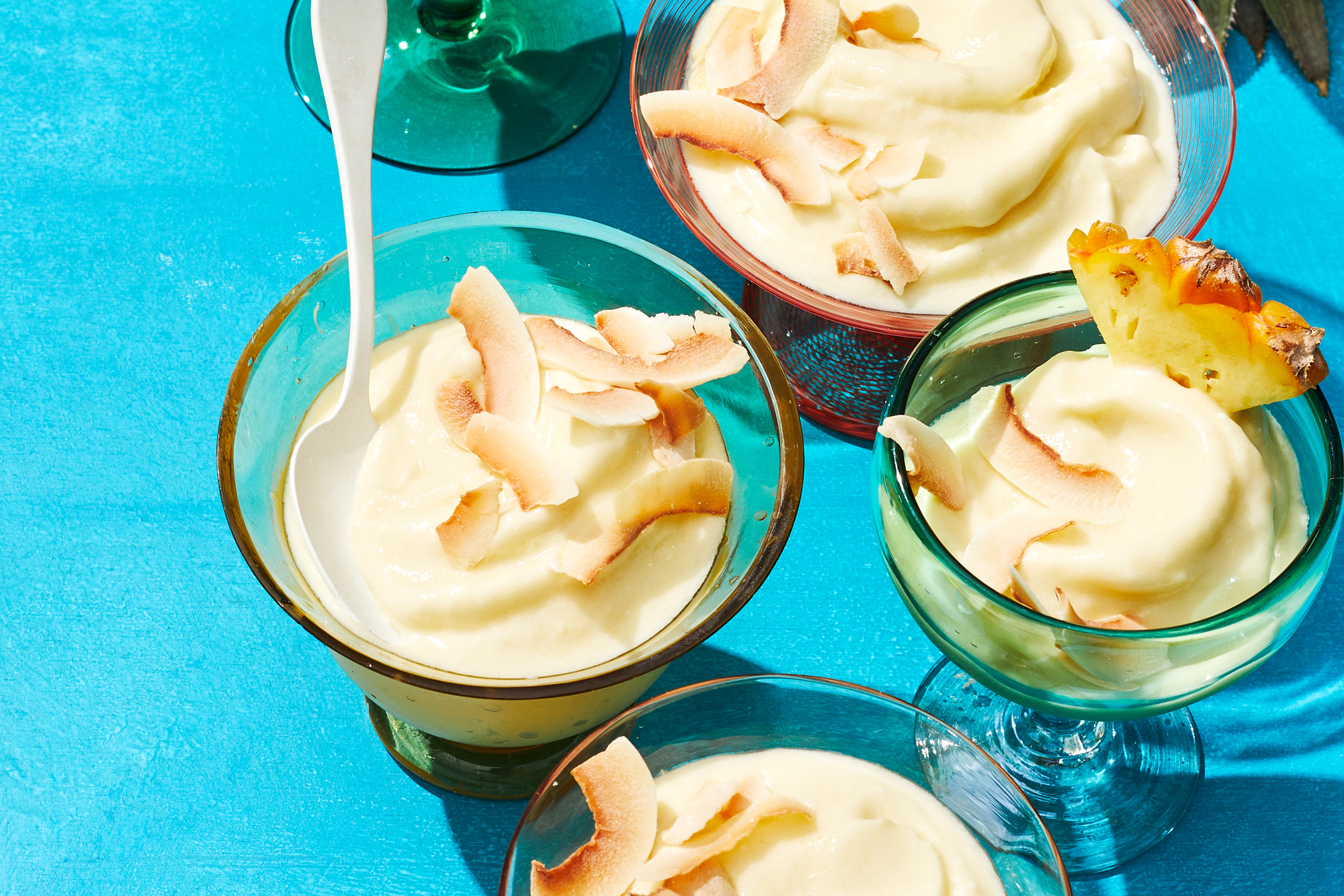 Pineapple Coconut Soft Serve Recipe