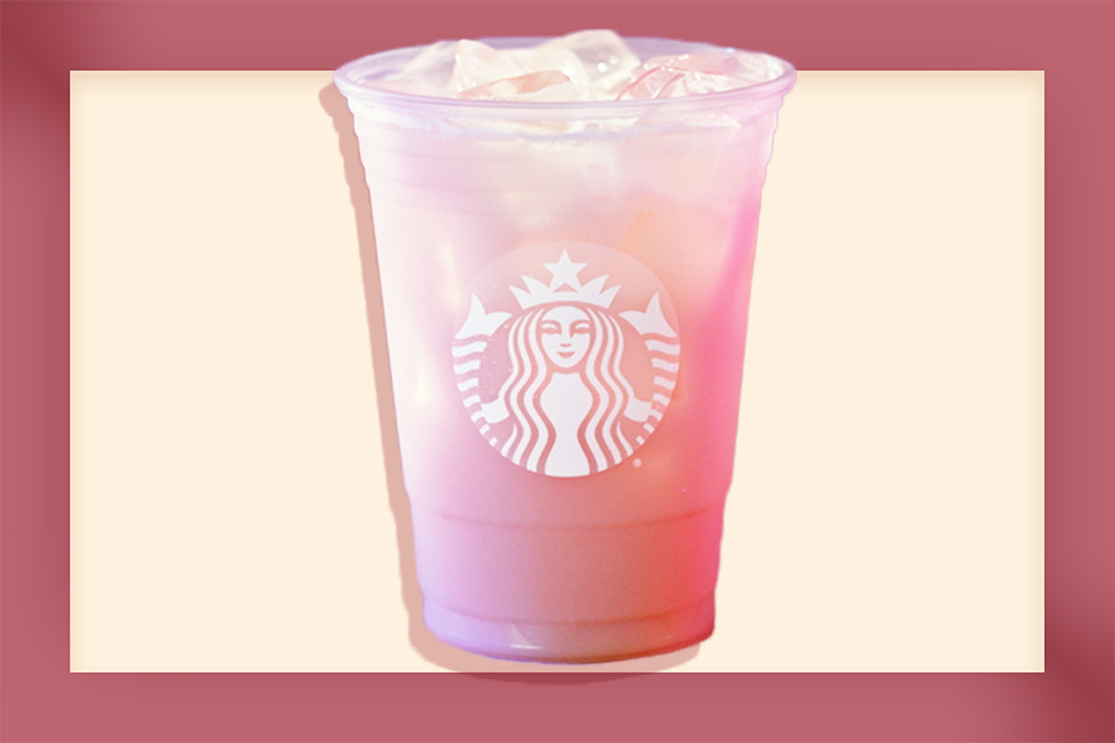 Starbucks New Pink Drink