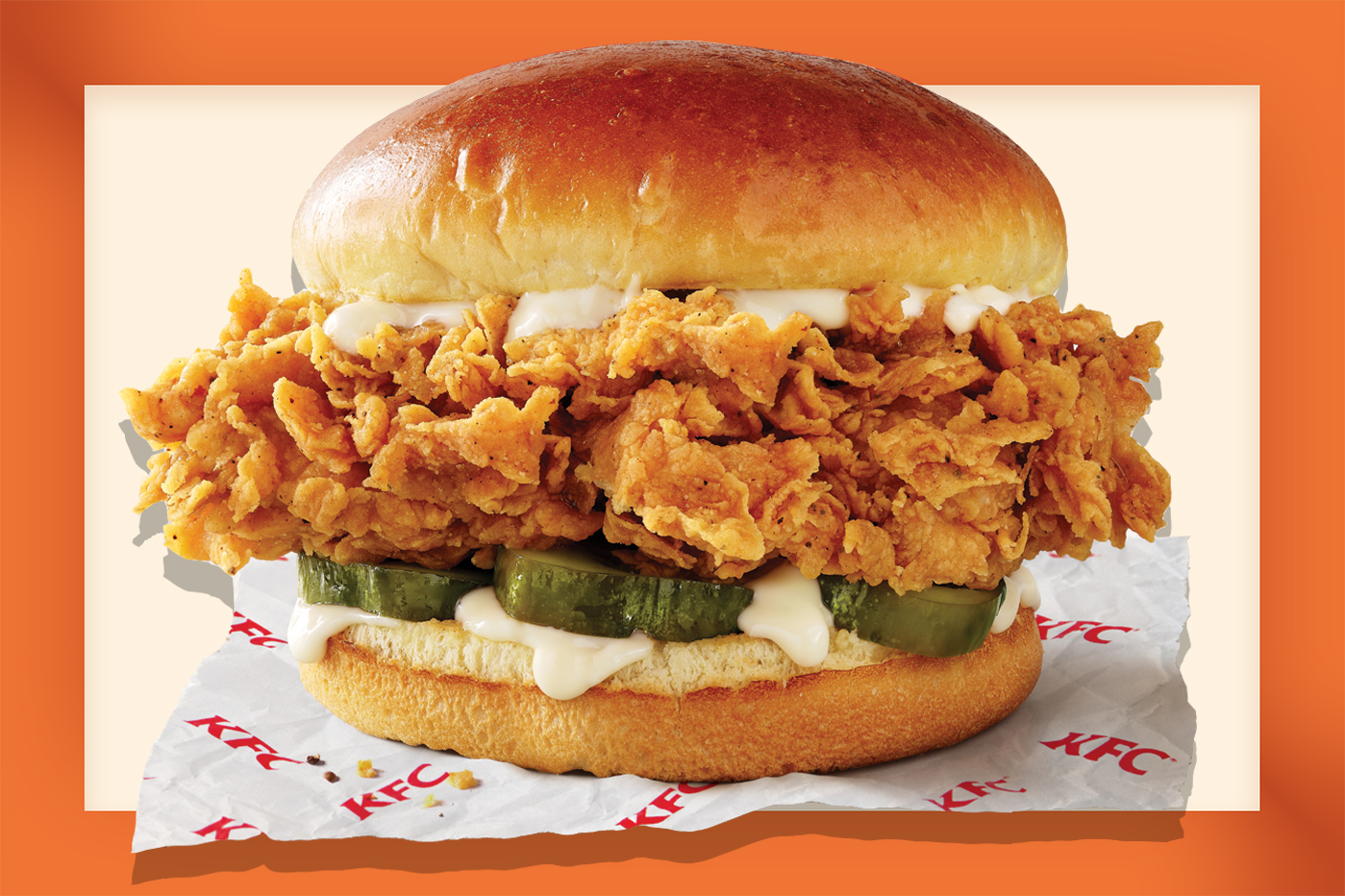 KFC chicken sandwich