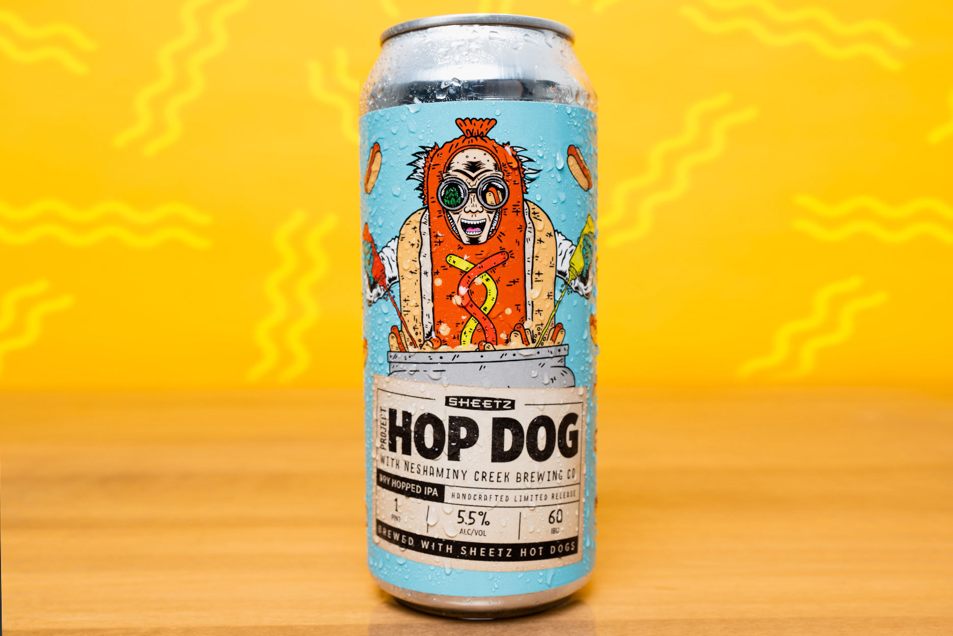 Sheetz Hop Dog hot dog beer