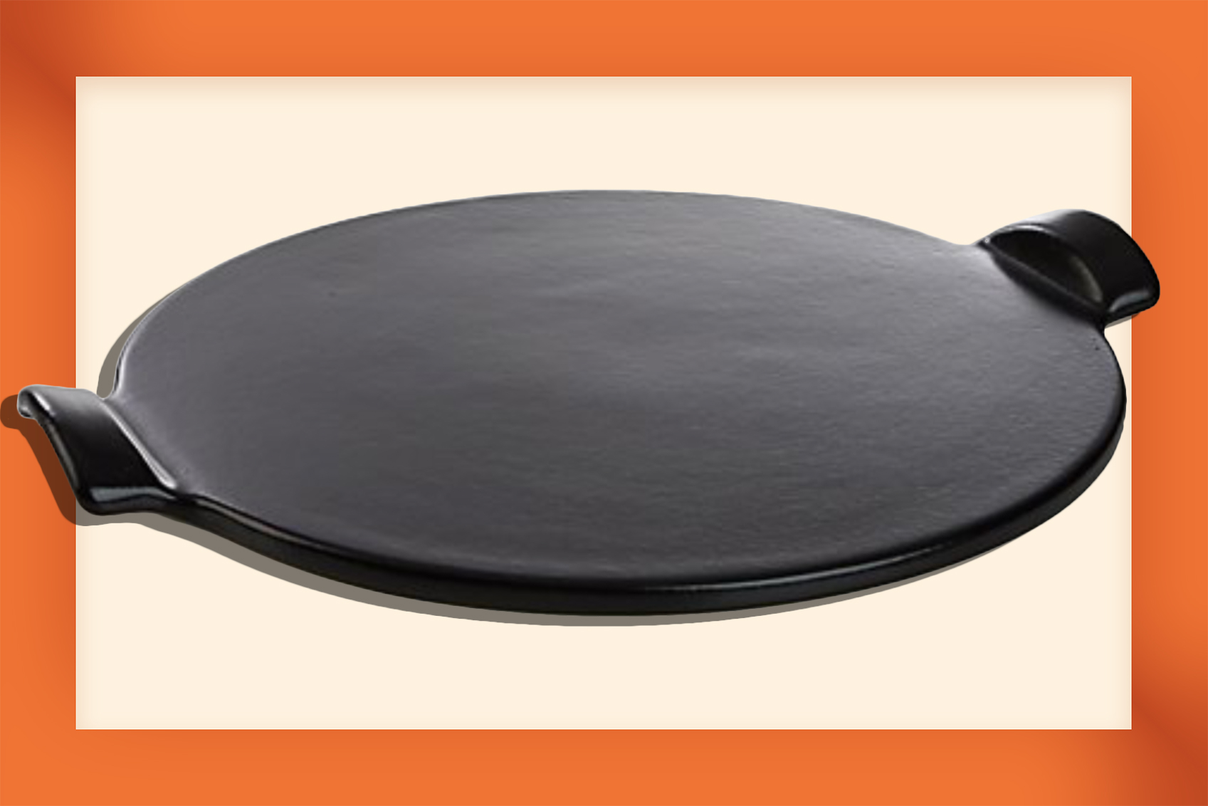 Father's Day Grilling Gifts | Emile Henry Glazed Pizza Stone