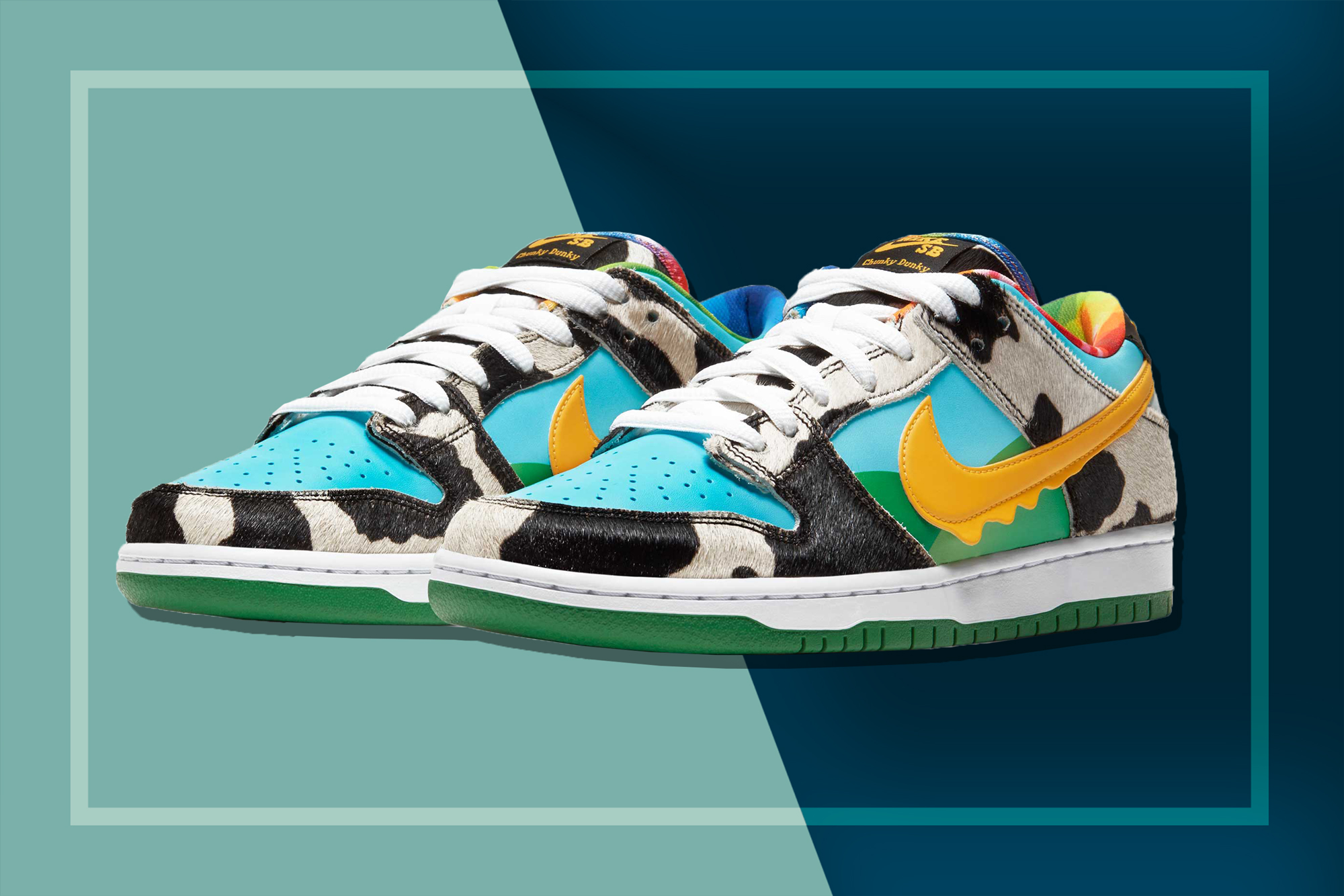 Ben & Jerry's x Nike Collaboration | Chunky Ducky Shoes