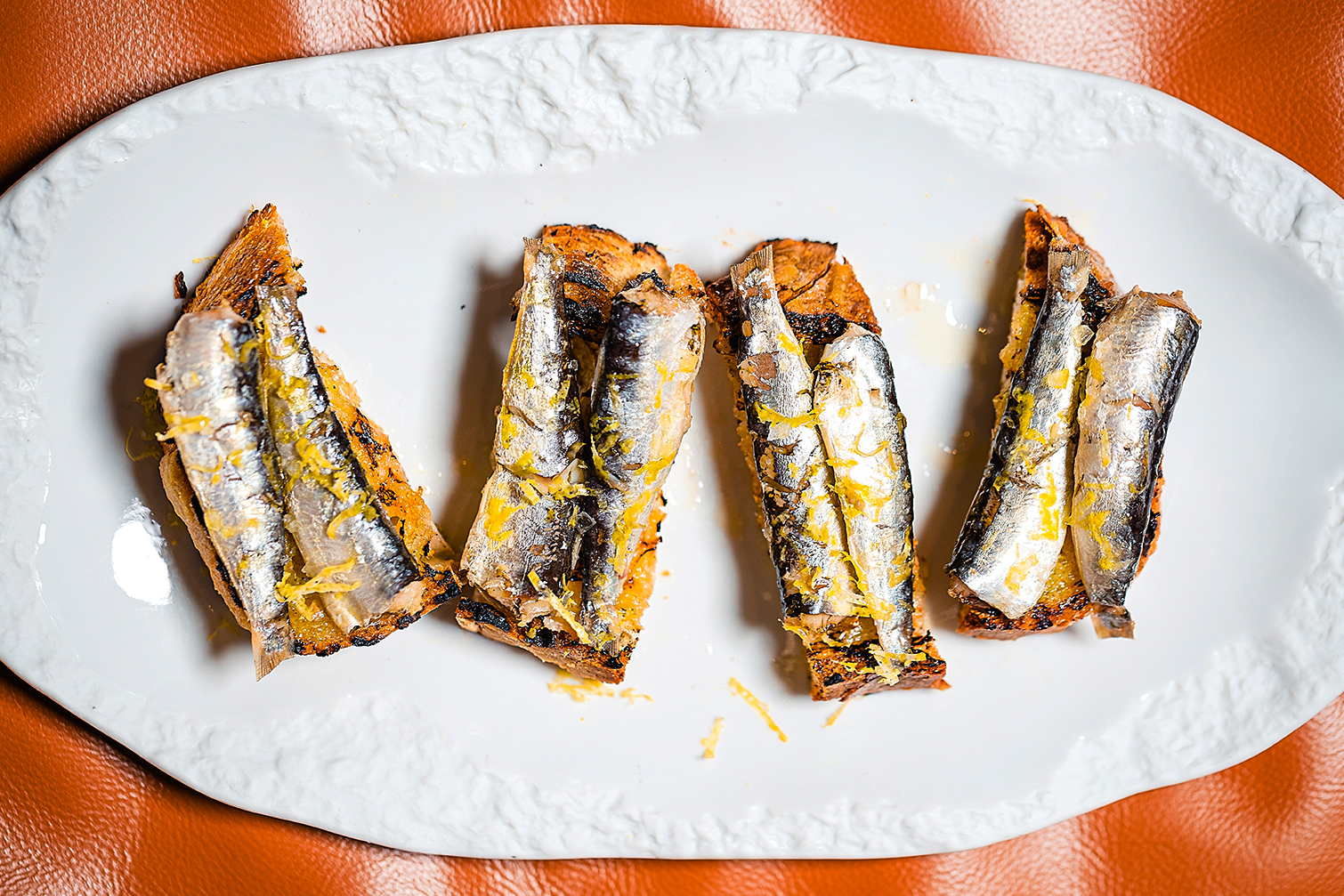 Chefs Favorite Uses For Tinned Foods | Sardine Toast