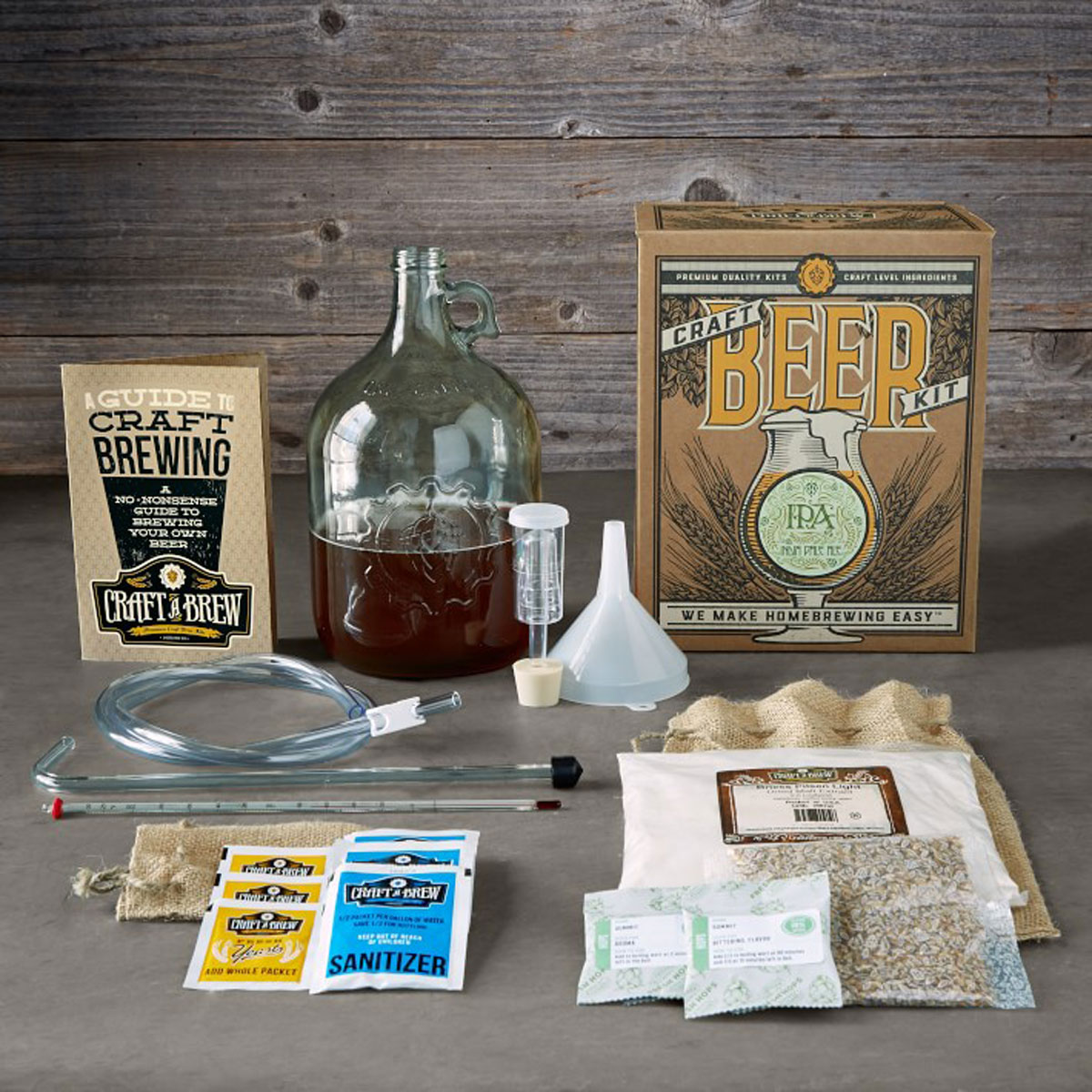 fathers day gifts beer brewing kit