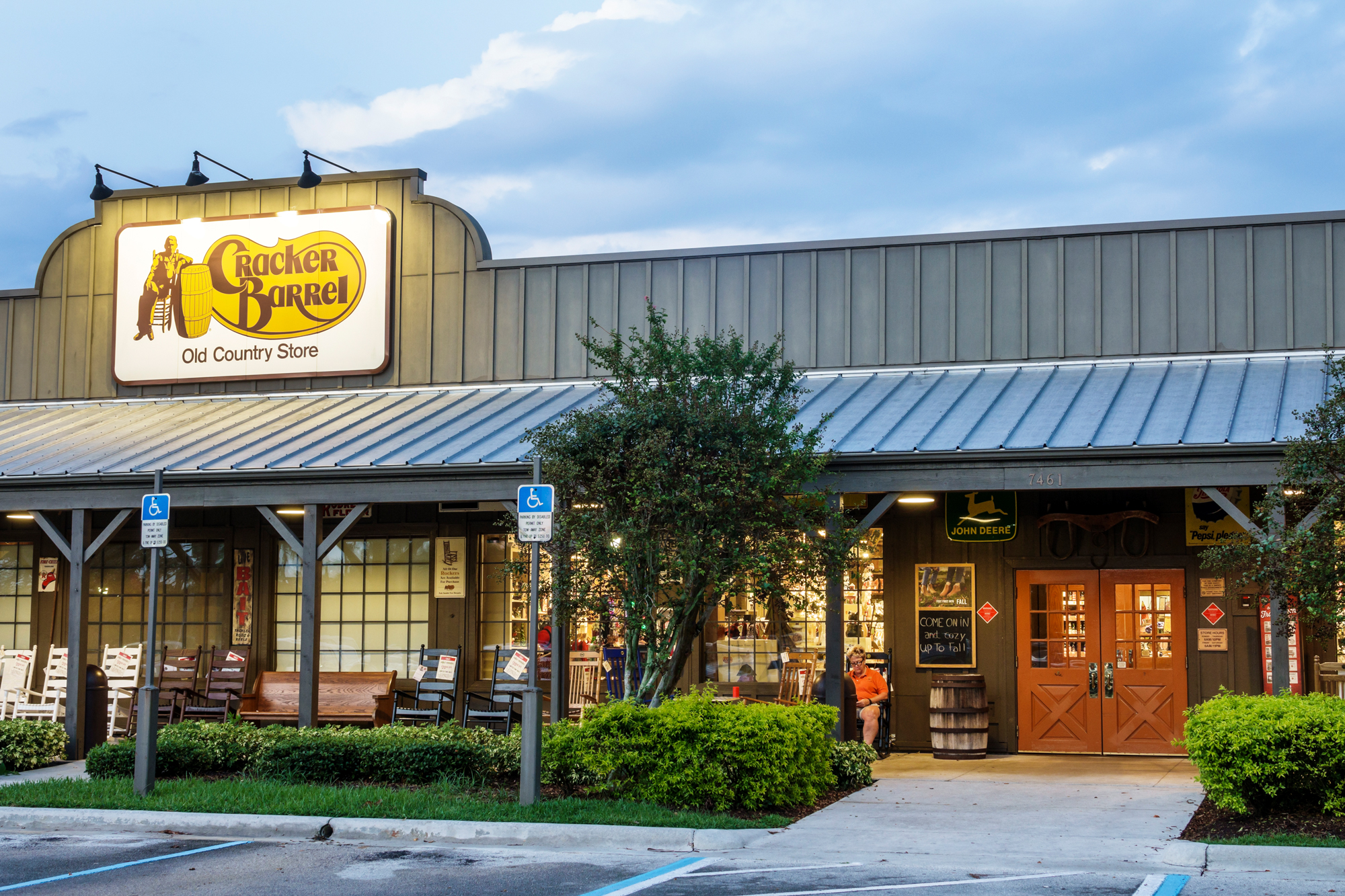 Cracker Barrel Reopening, Testing Alcohol Sales