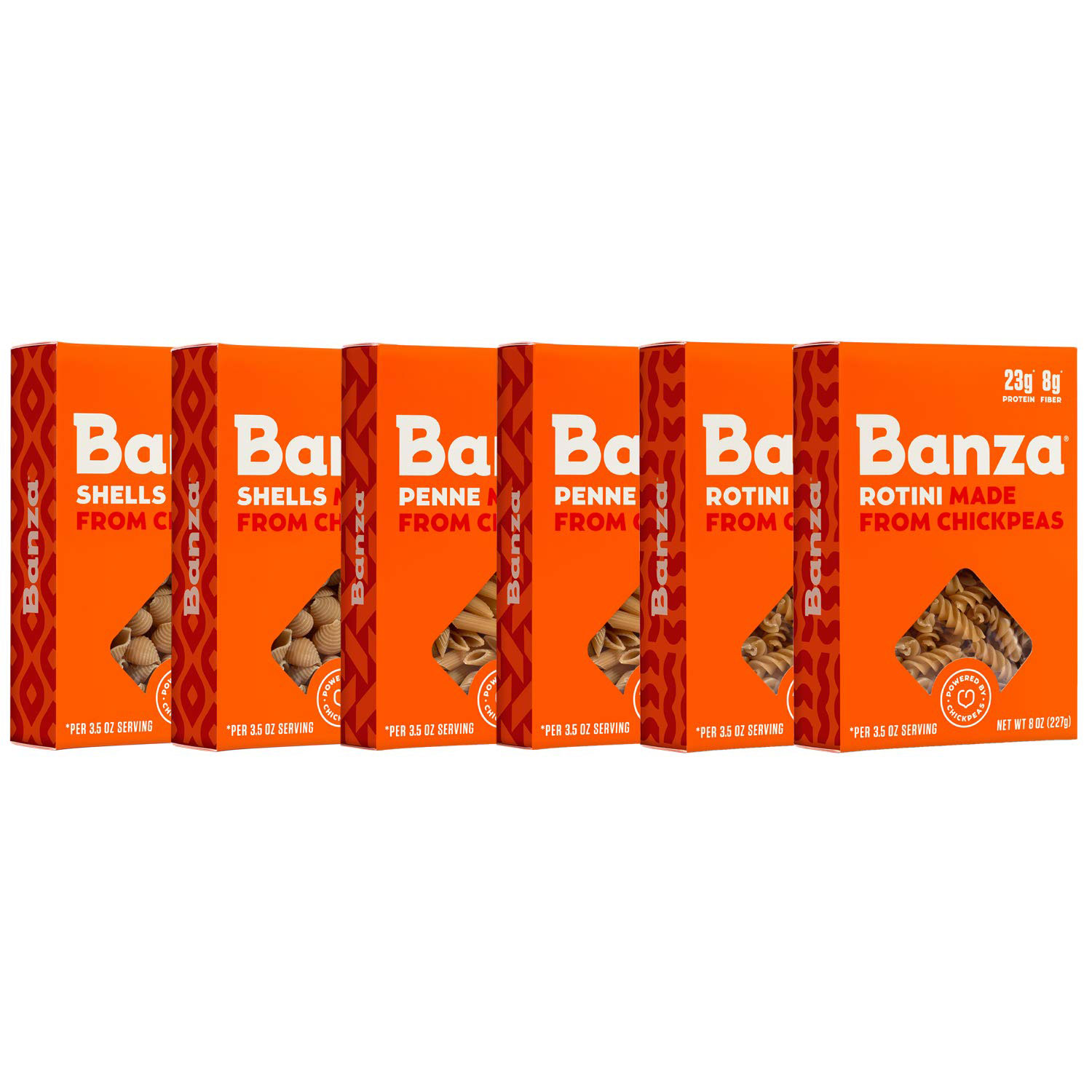 Banza Chickpea Pasta, Variety Pack