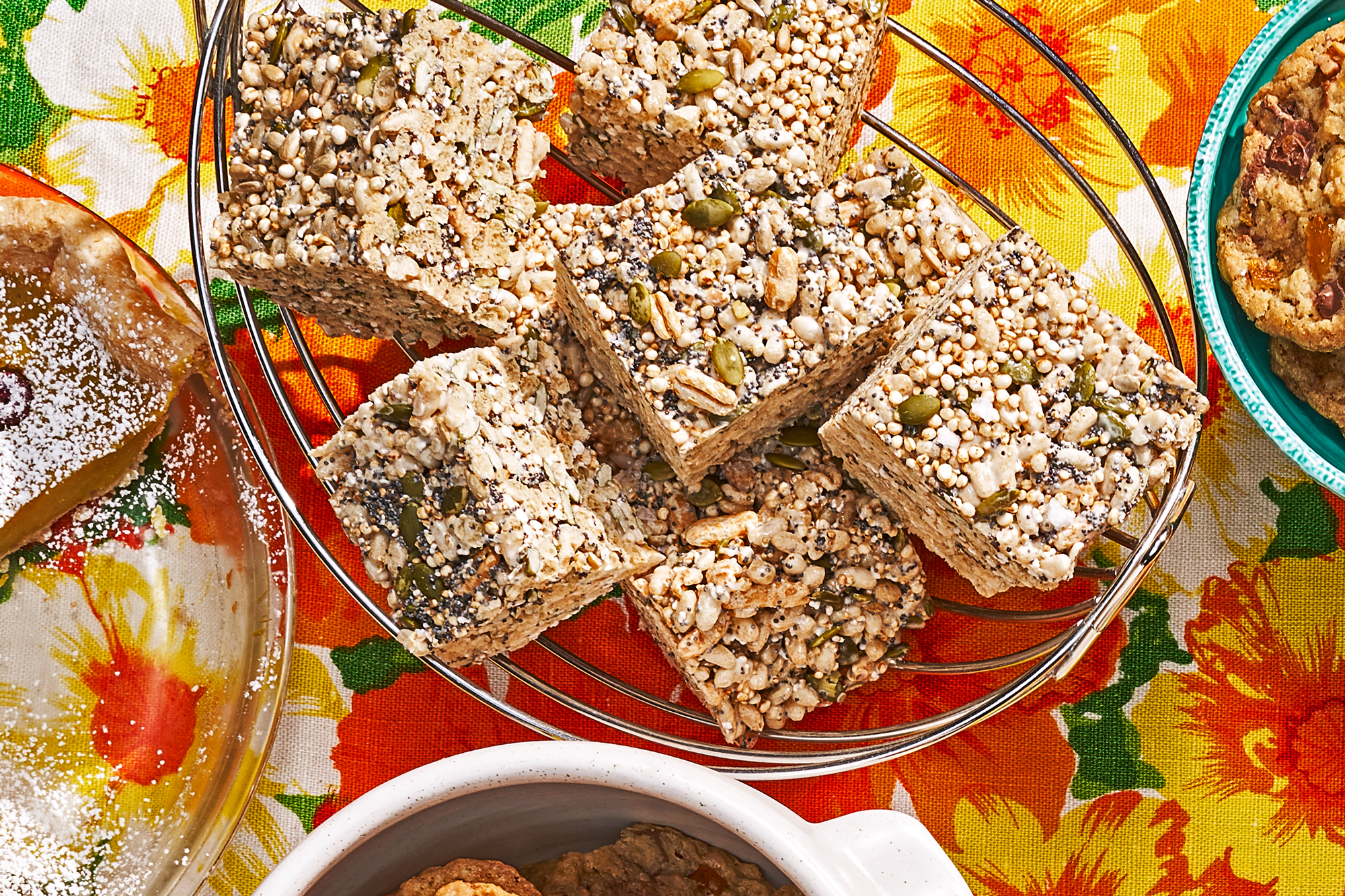 Birdseed Marshmallow Crispy Treats Recipe