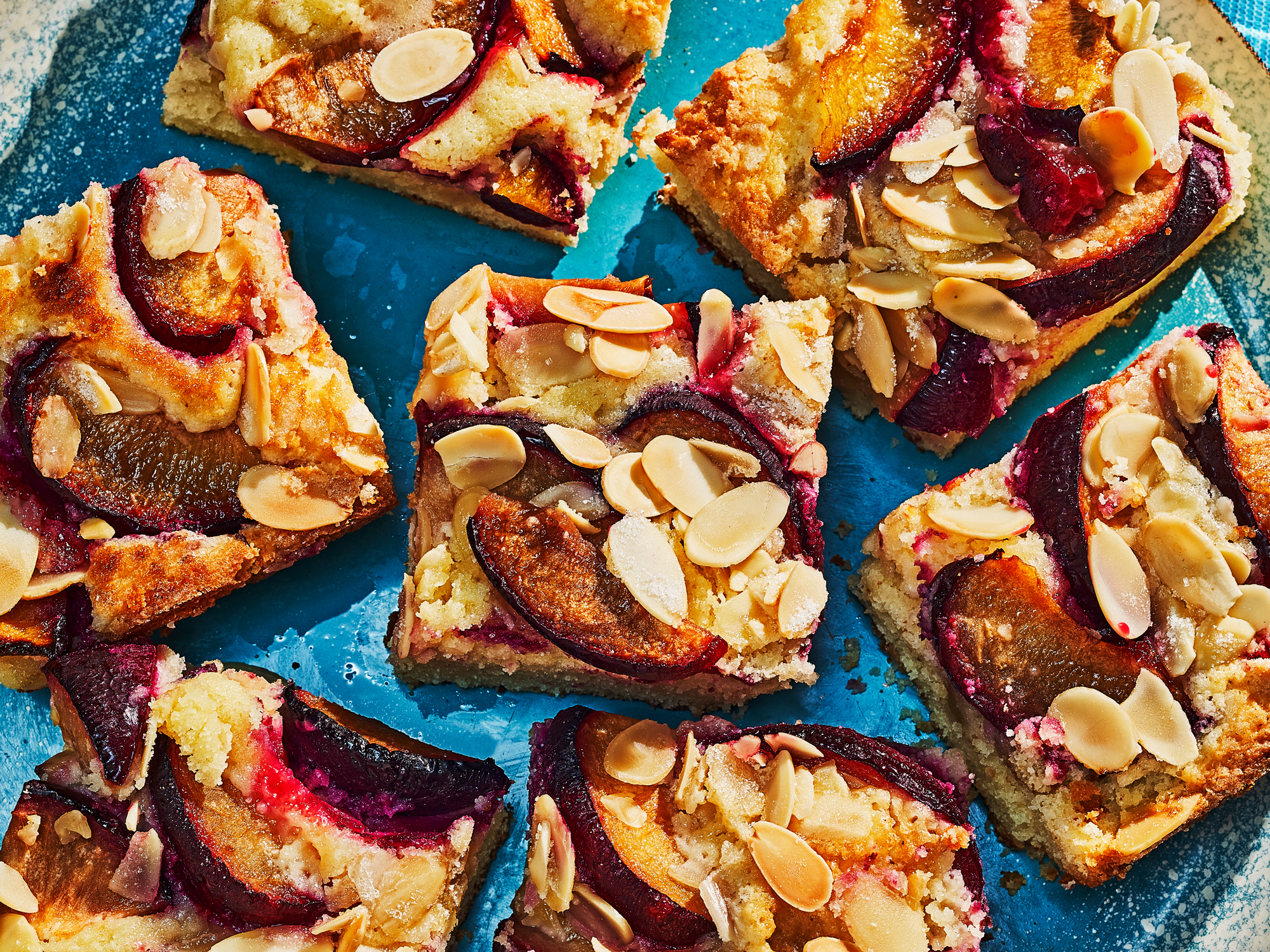 Almond and Plum Snack Cake Recipe