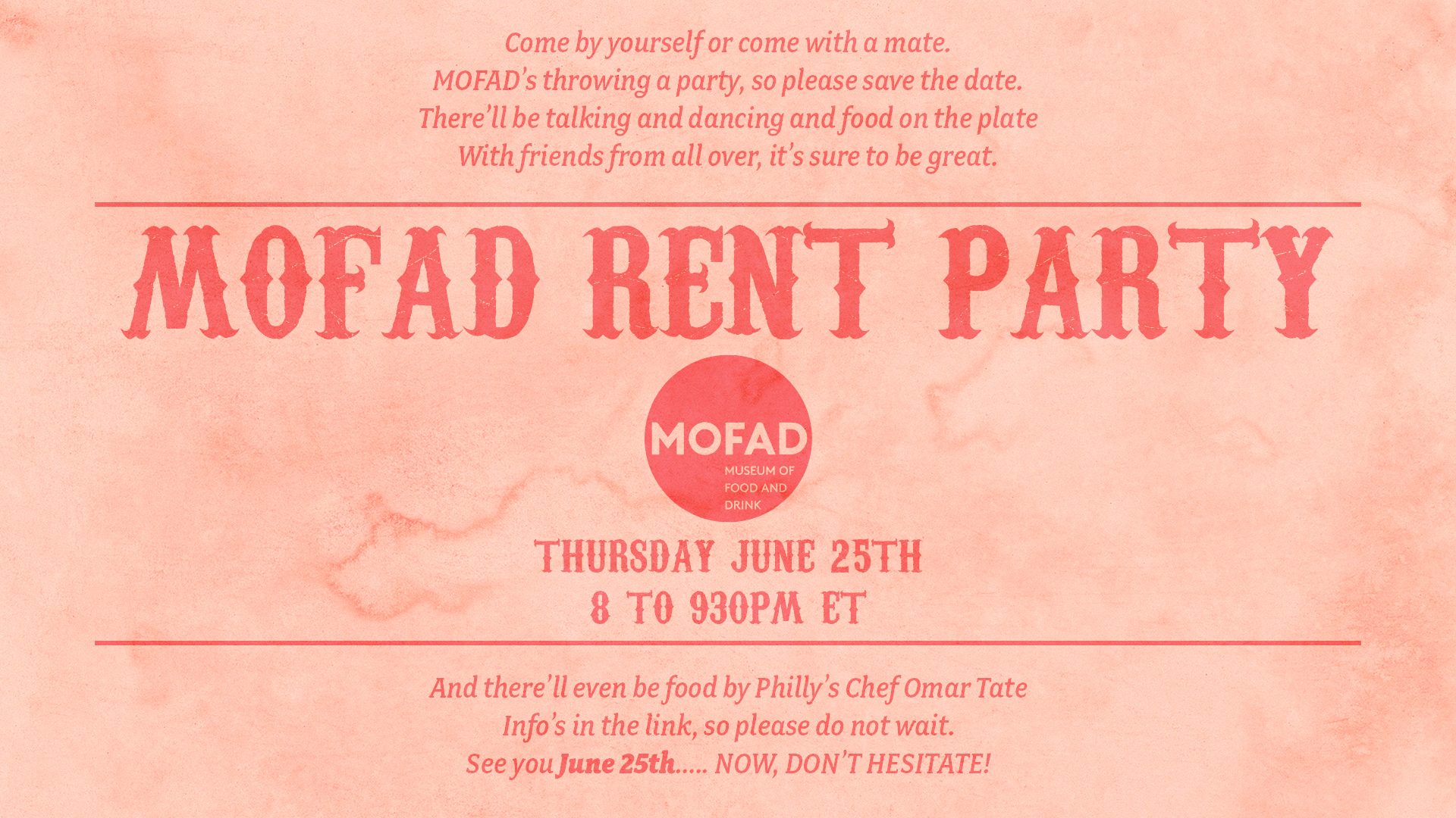 MOFAD Rent Party
