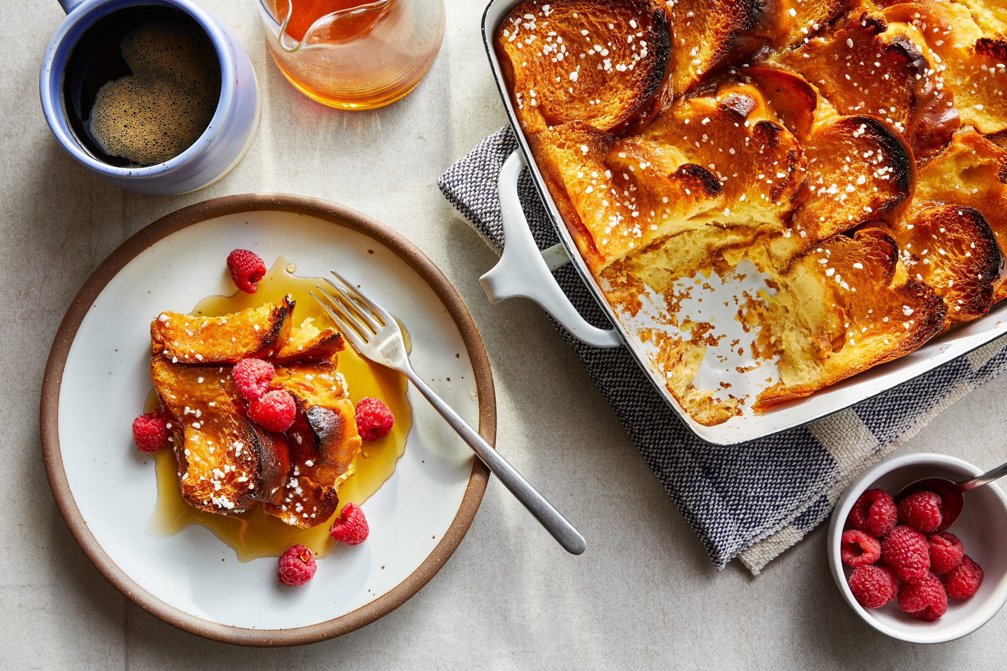 Cardamom Baked French Toast Recipe
