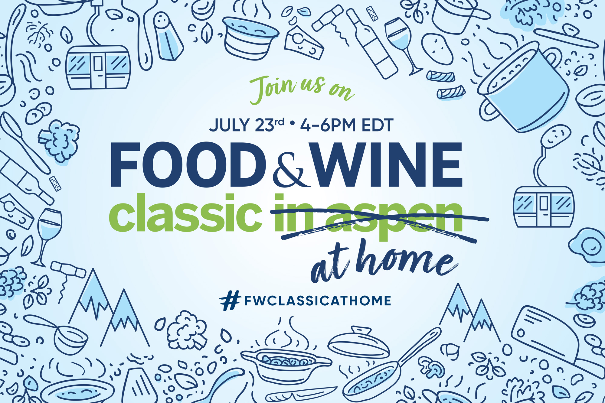Food & Wine Class At Home 2020