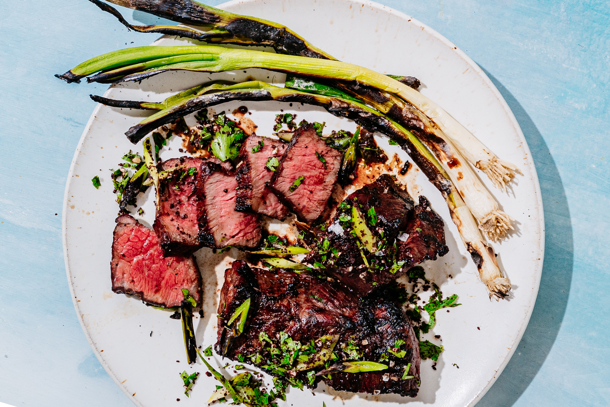 Grilled Boneless Short Ribs with Scallion Sumac Gremolata Recipe