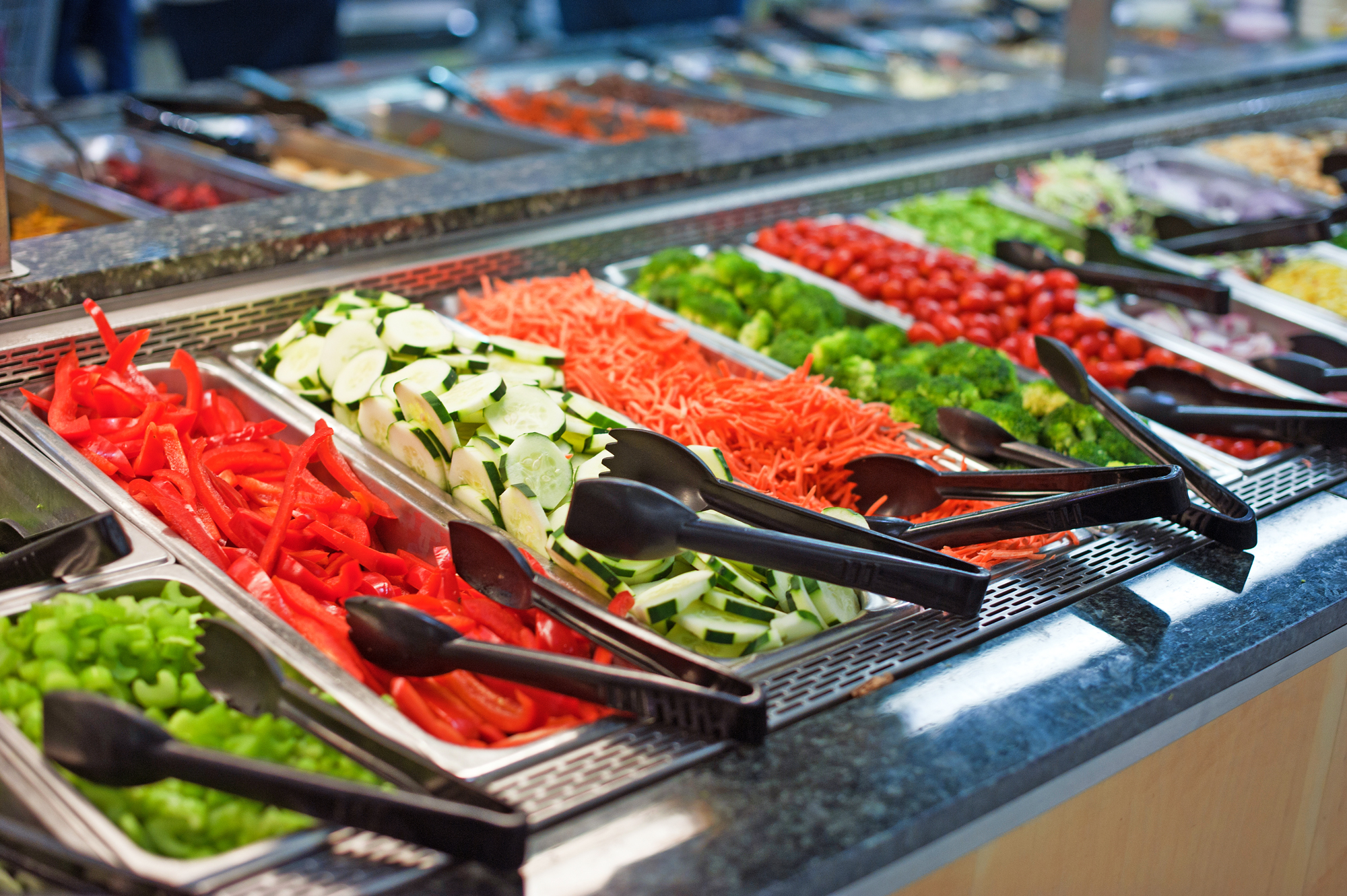 Supermarkets Don't Know What To Do With Their Salad Bars