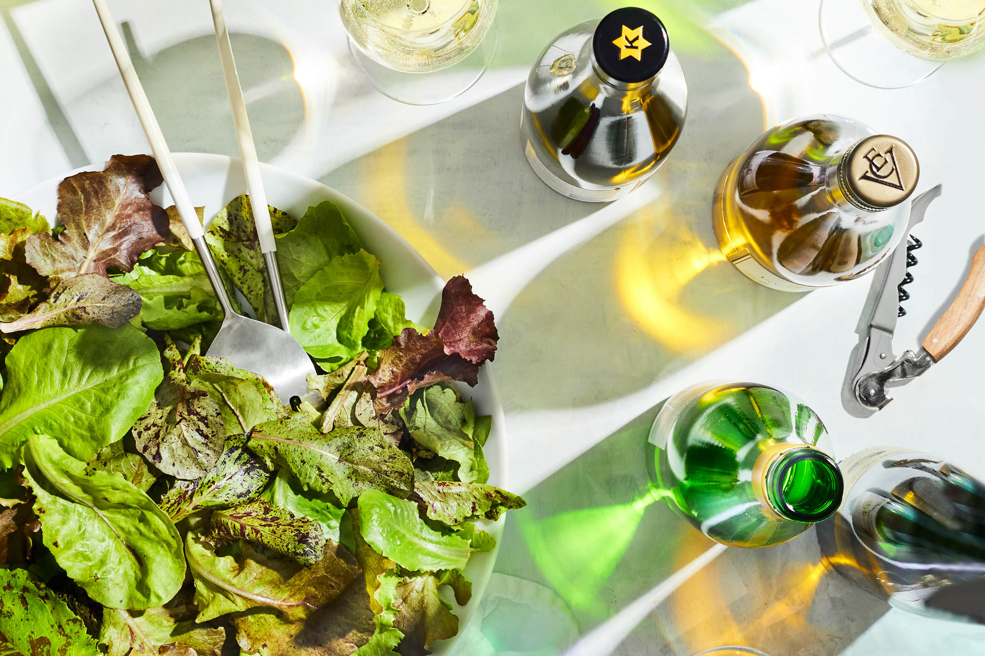 Wine and Salad Dressing Pairings
