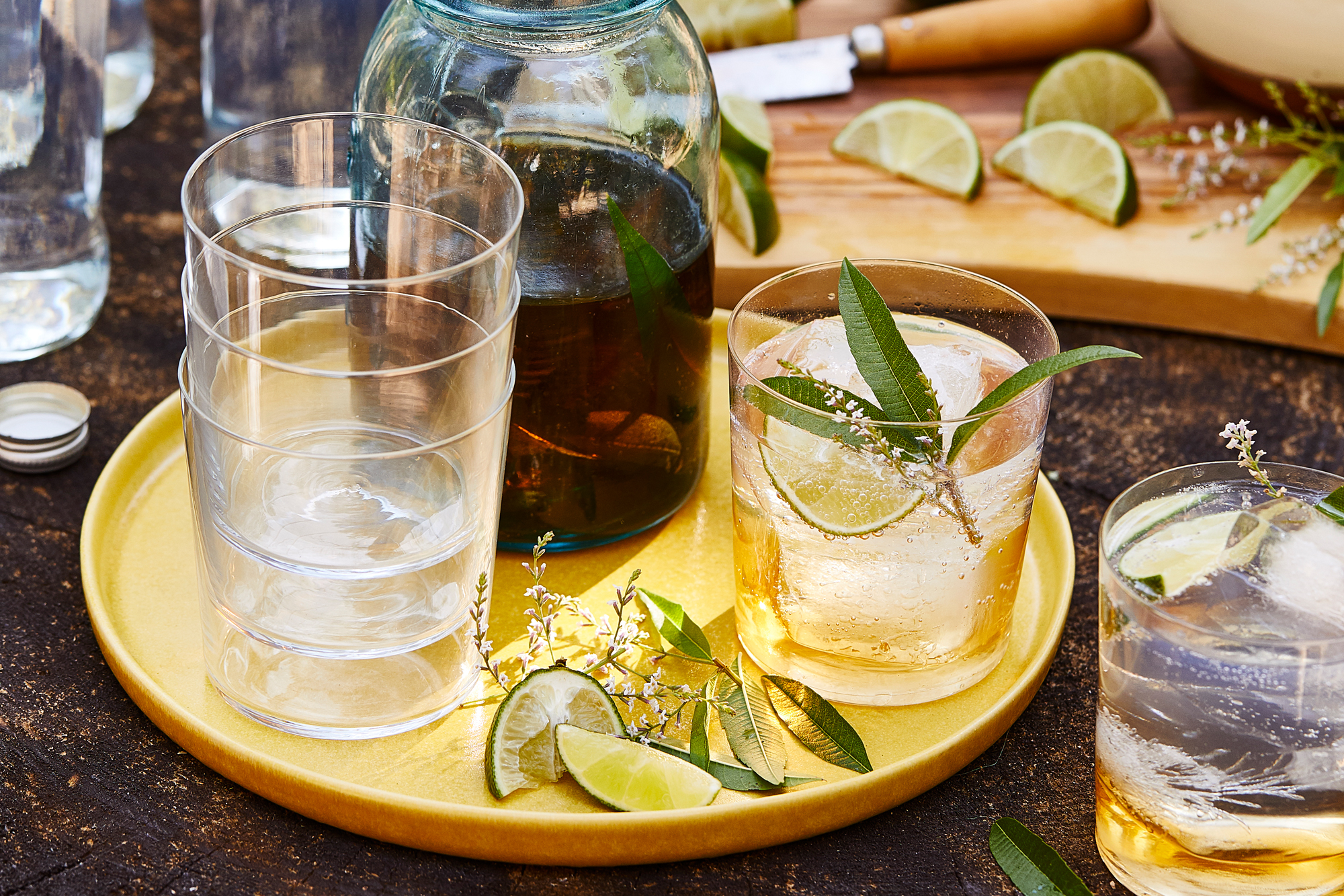 Verbena Infused Tequila and Tonic Recipe