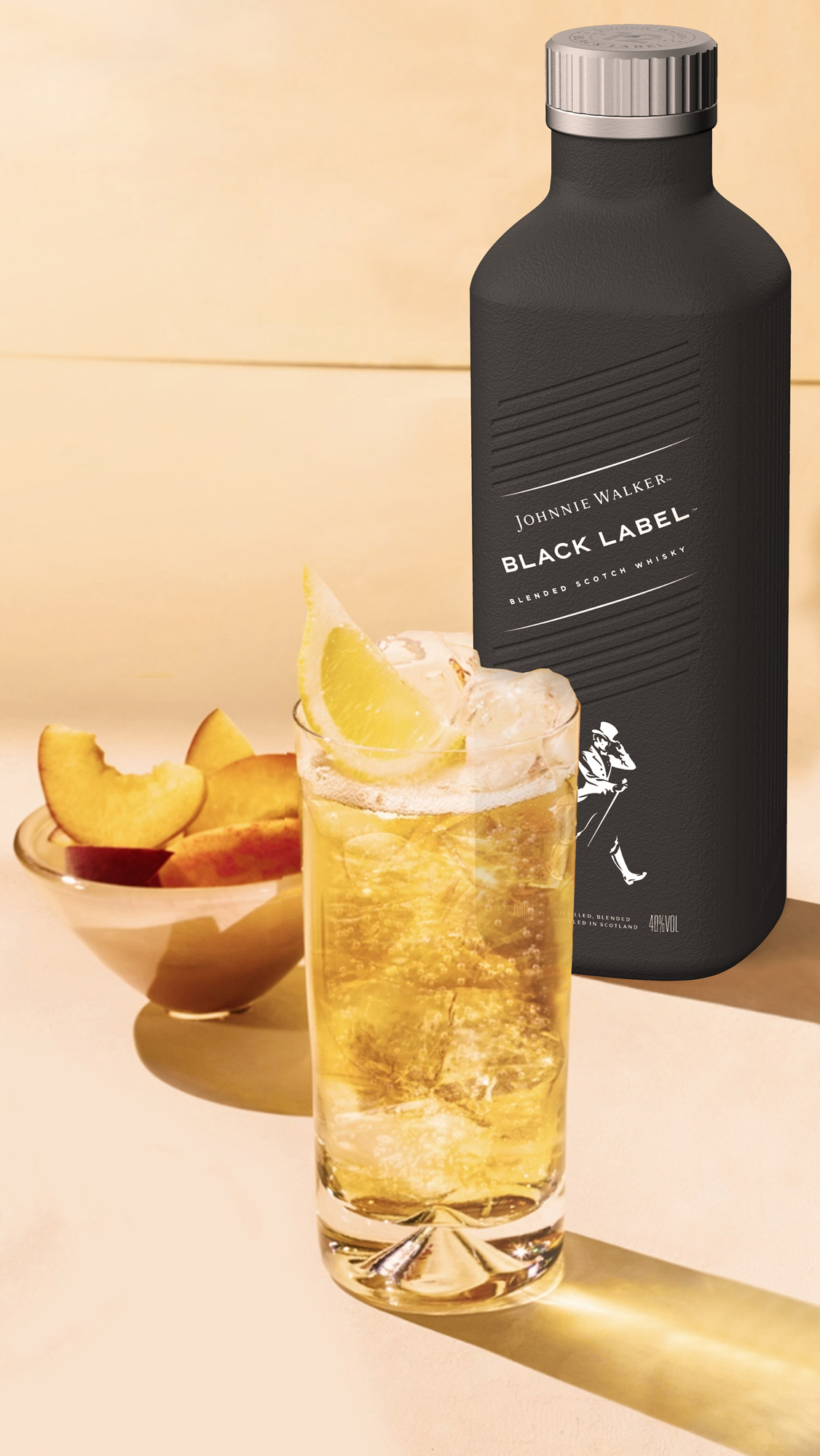 Paper Johnnie Walker Bottle | Diageo
