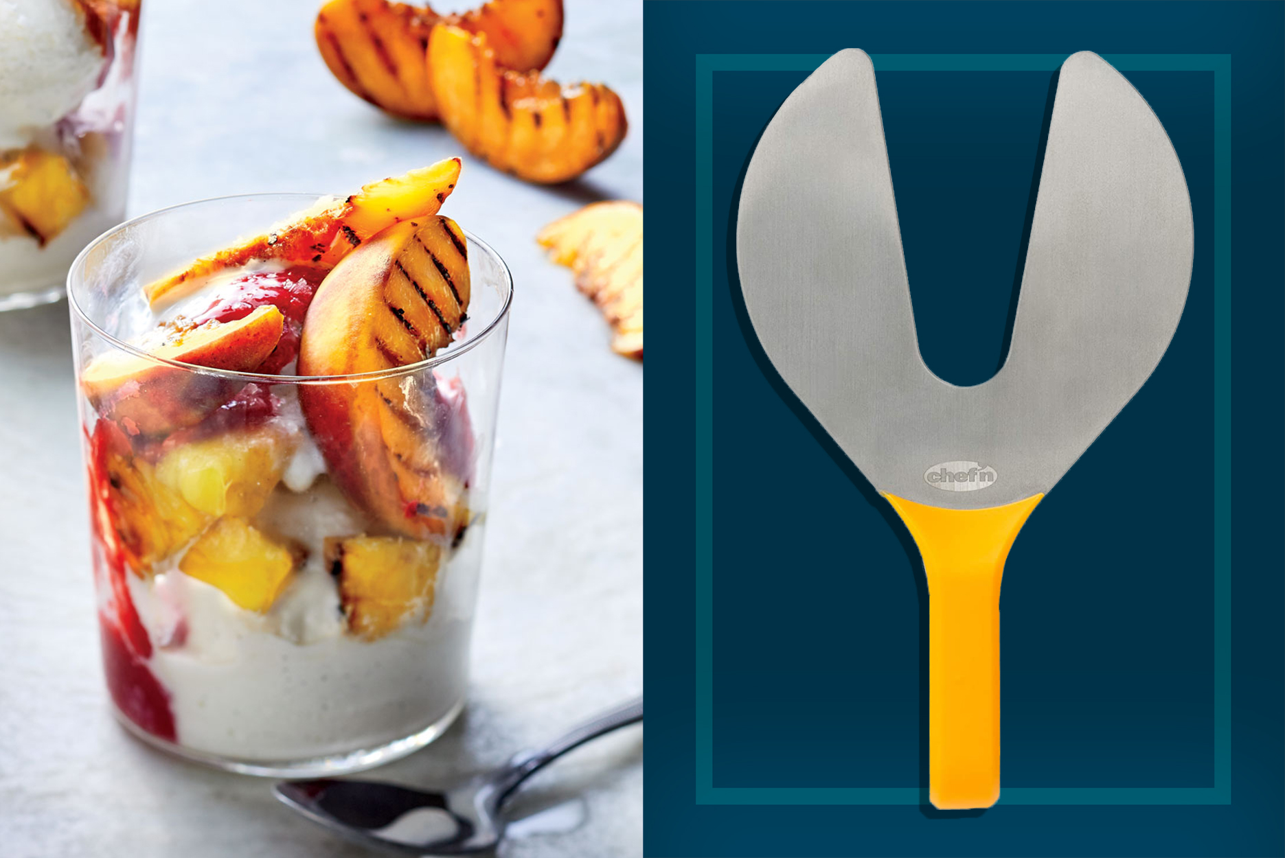 Summer Fruit Cooking Tools | Peach Pitter