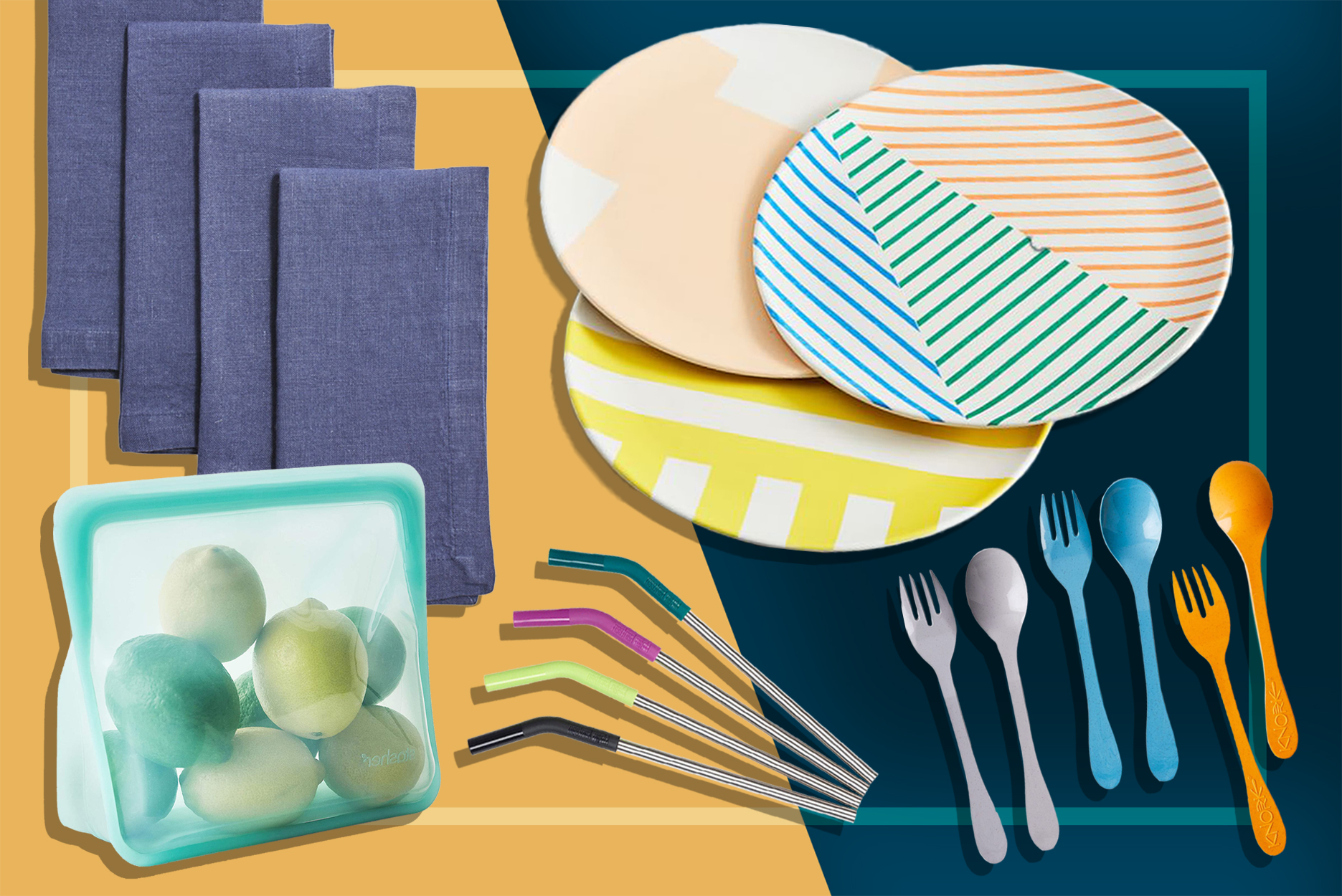Reusable Products For An Eco-Friendly Picnic
