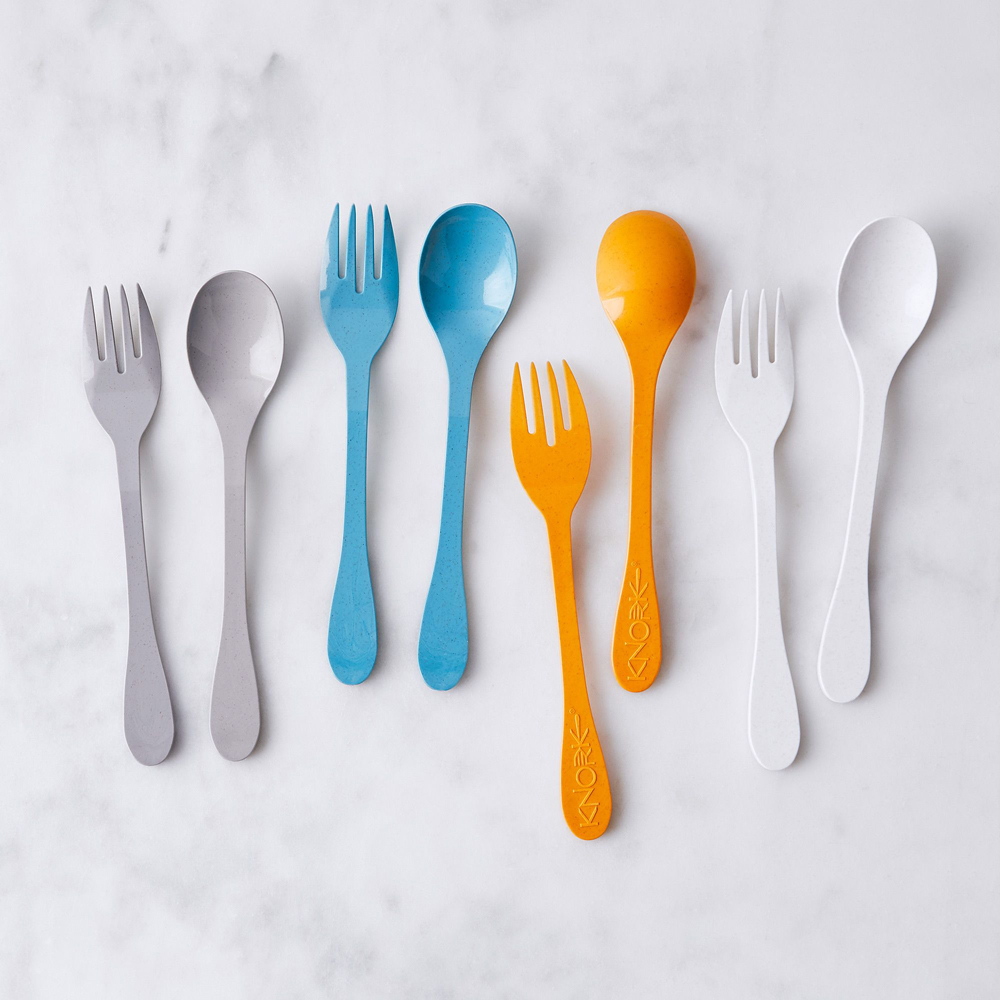 eco-friendly knork flatware