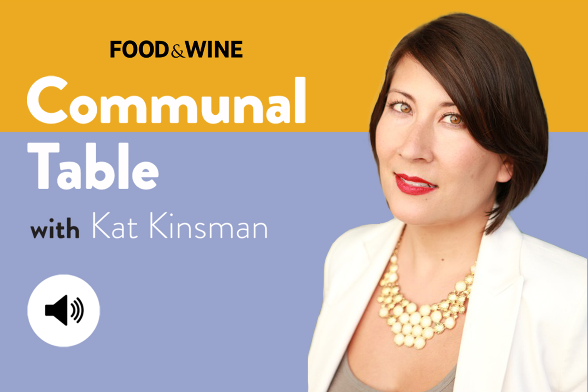 Communal Table with Kat Kinsman featuring Jasmine Moy