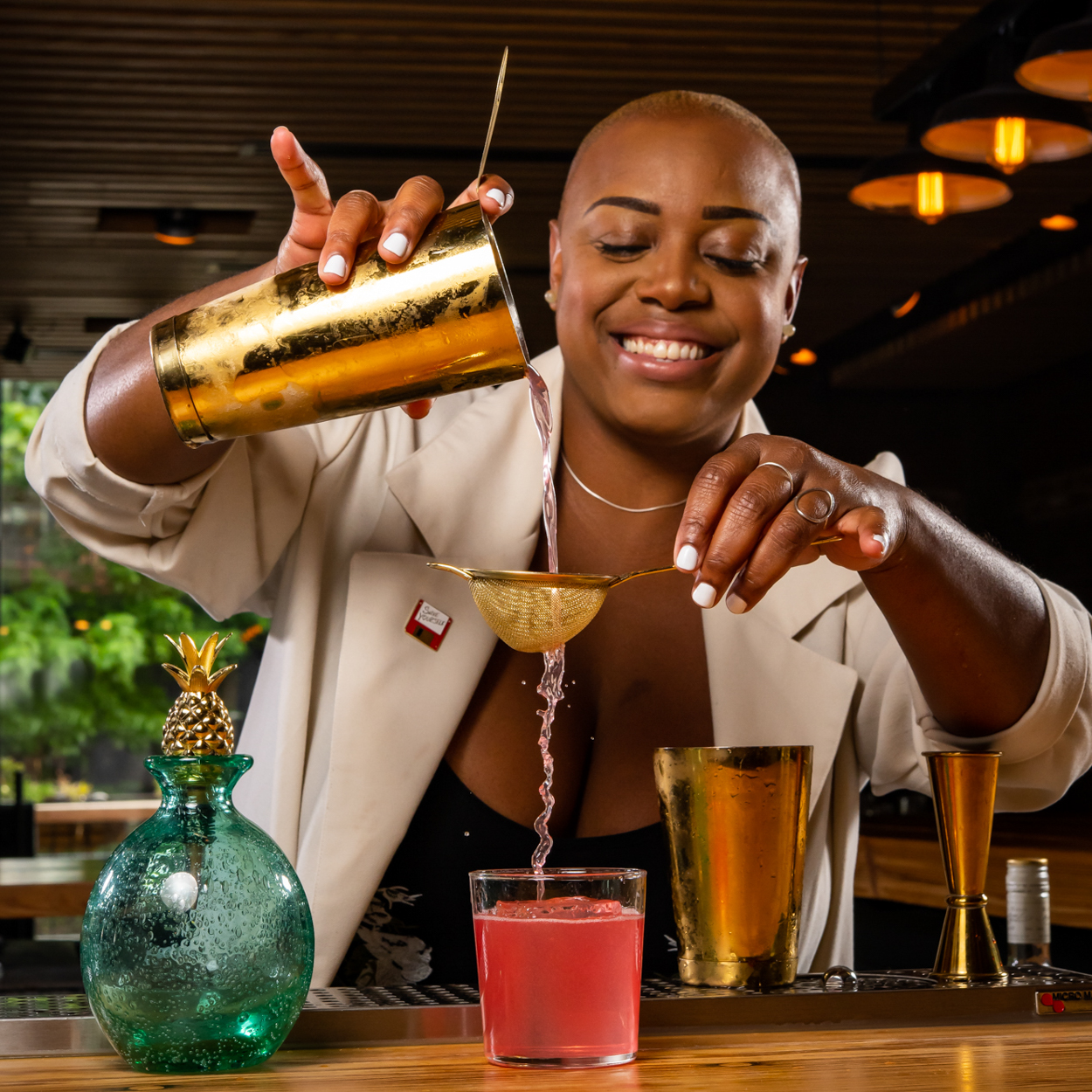 Black Mixologist To Follow On Instagram | Tiffanie Barriere