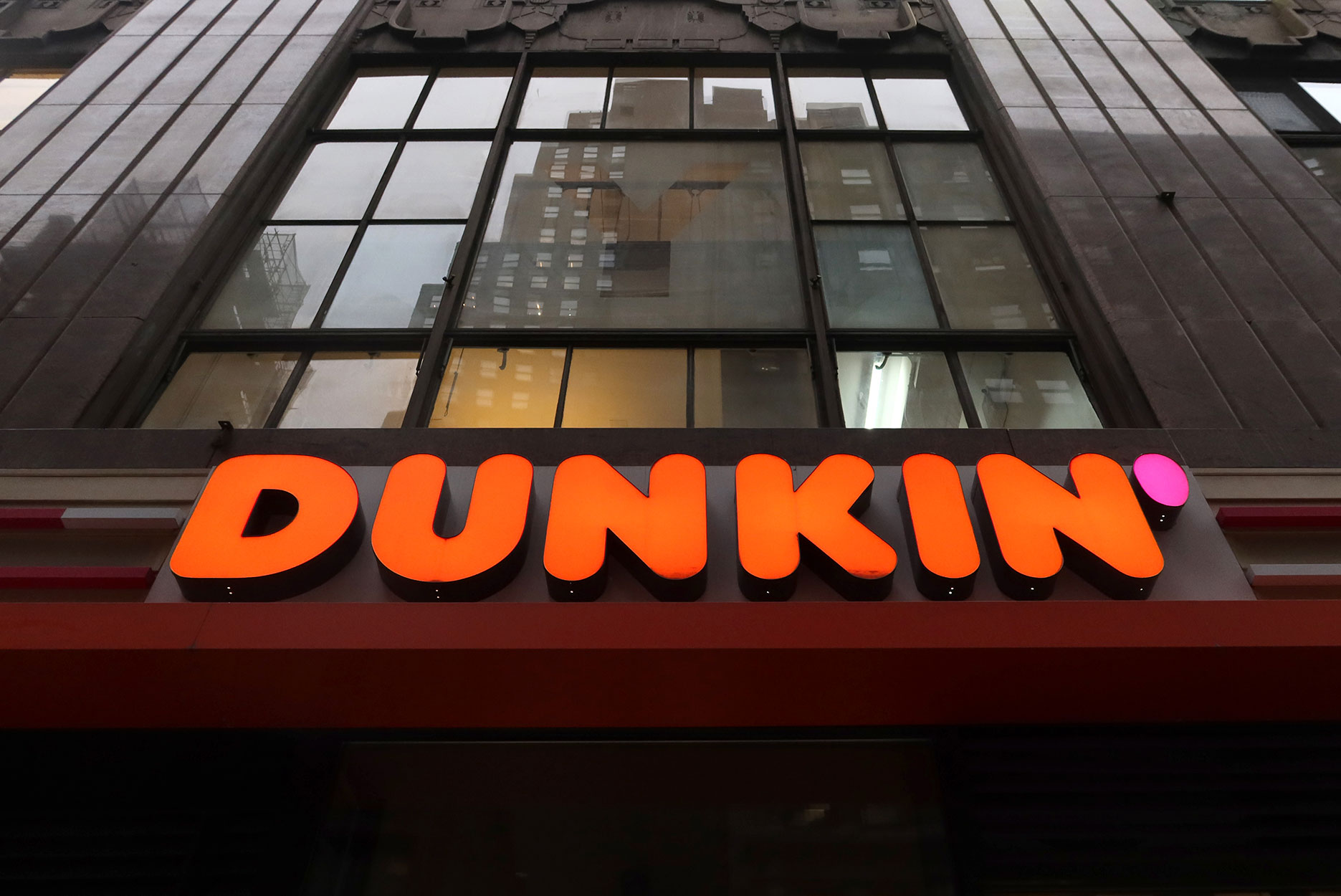A Dunkin store in NYC