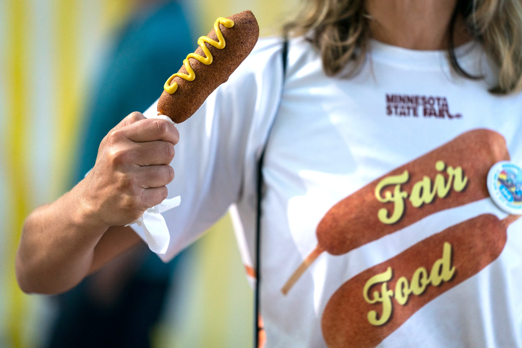 Corn Dog At the Minnesota State Fair