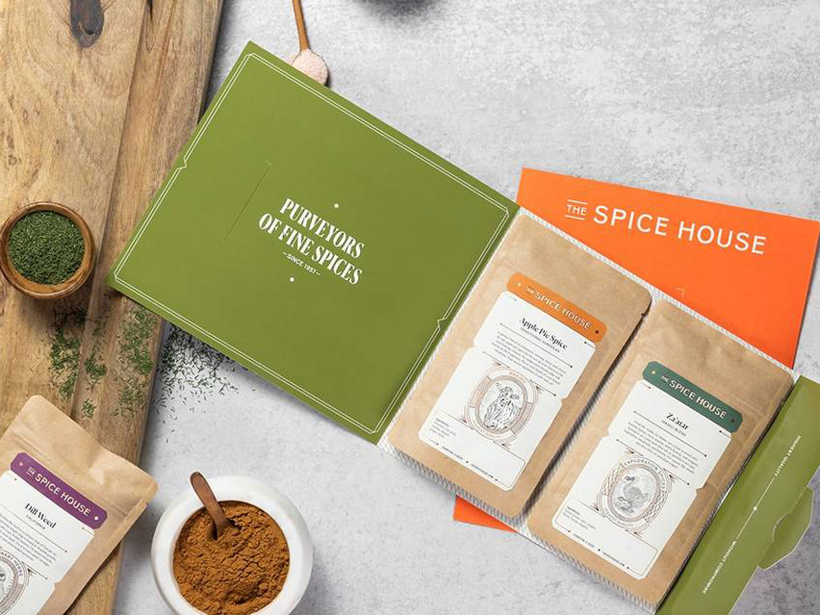spice house flatpack mail