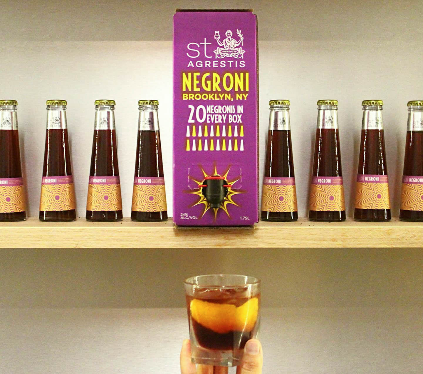 St. Agrestis Box Negroni