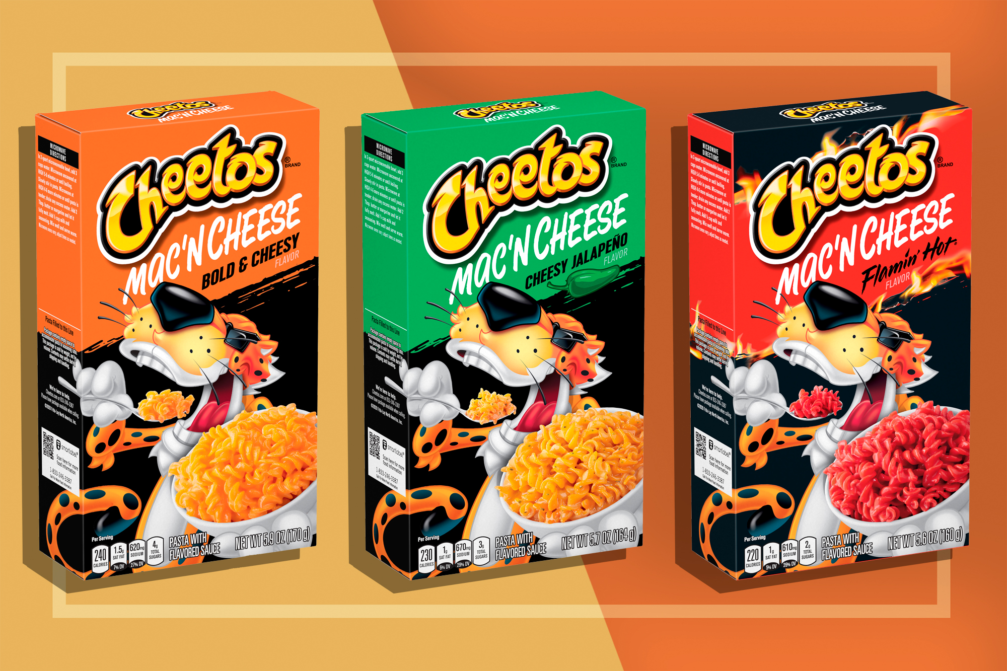 Cheetos Mac n Cheese Boxes