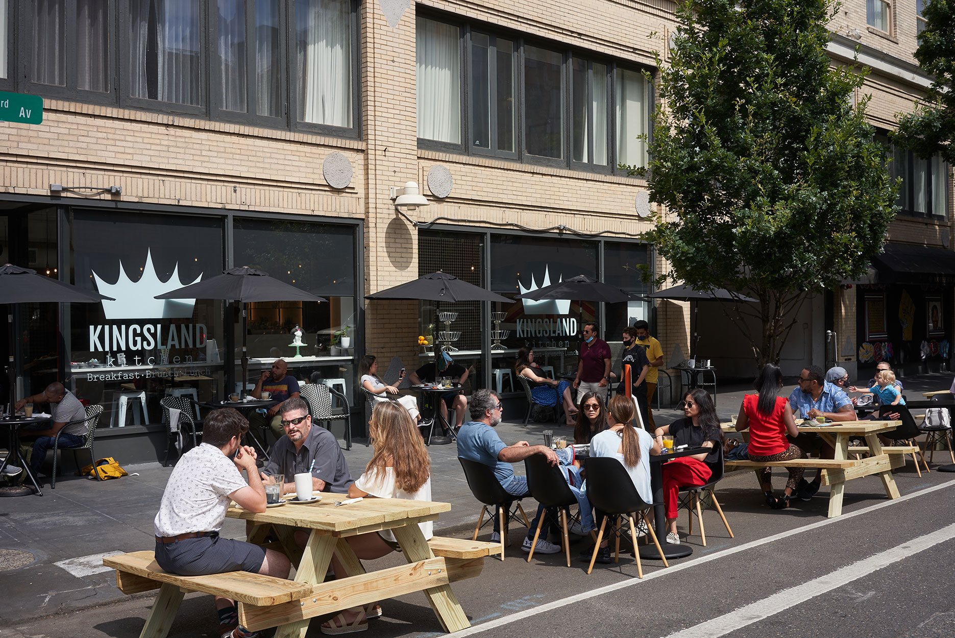 On-street Outdoor Dining