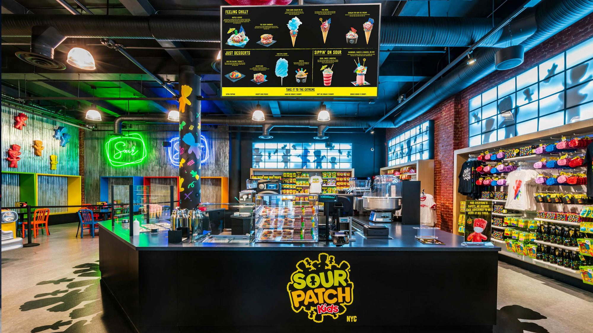 Sour Patch Kids Store Opening in NYC
