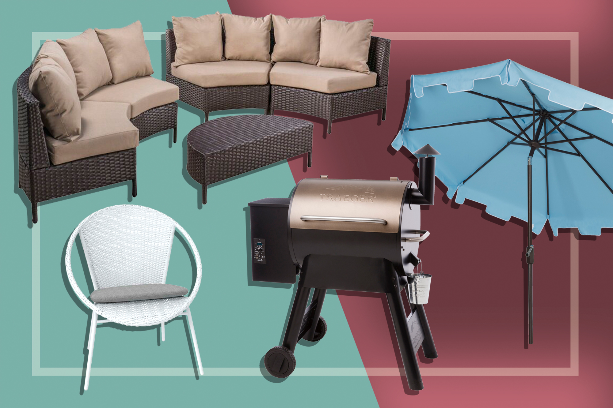 Wayfair Outdoor Sale Items: Chair, Grill, Furniture, Umbrella