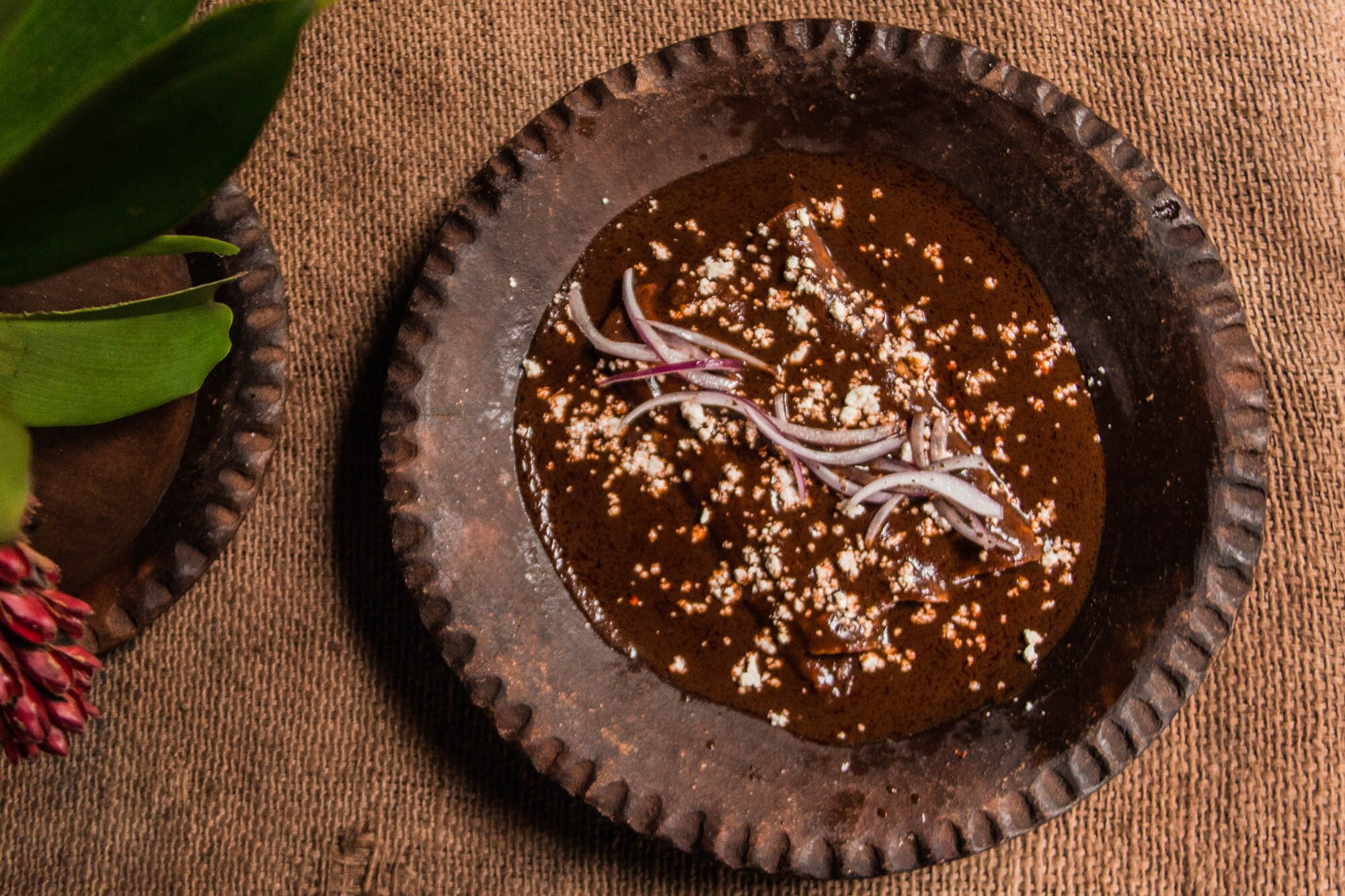 Mole made with housemade chocolate at Cocina Chontal