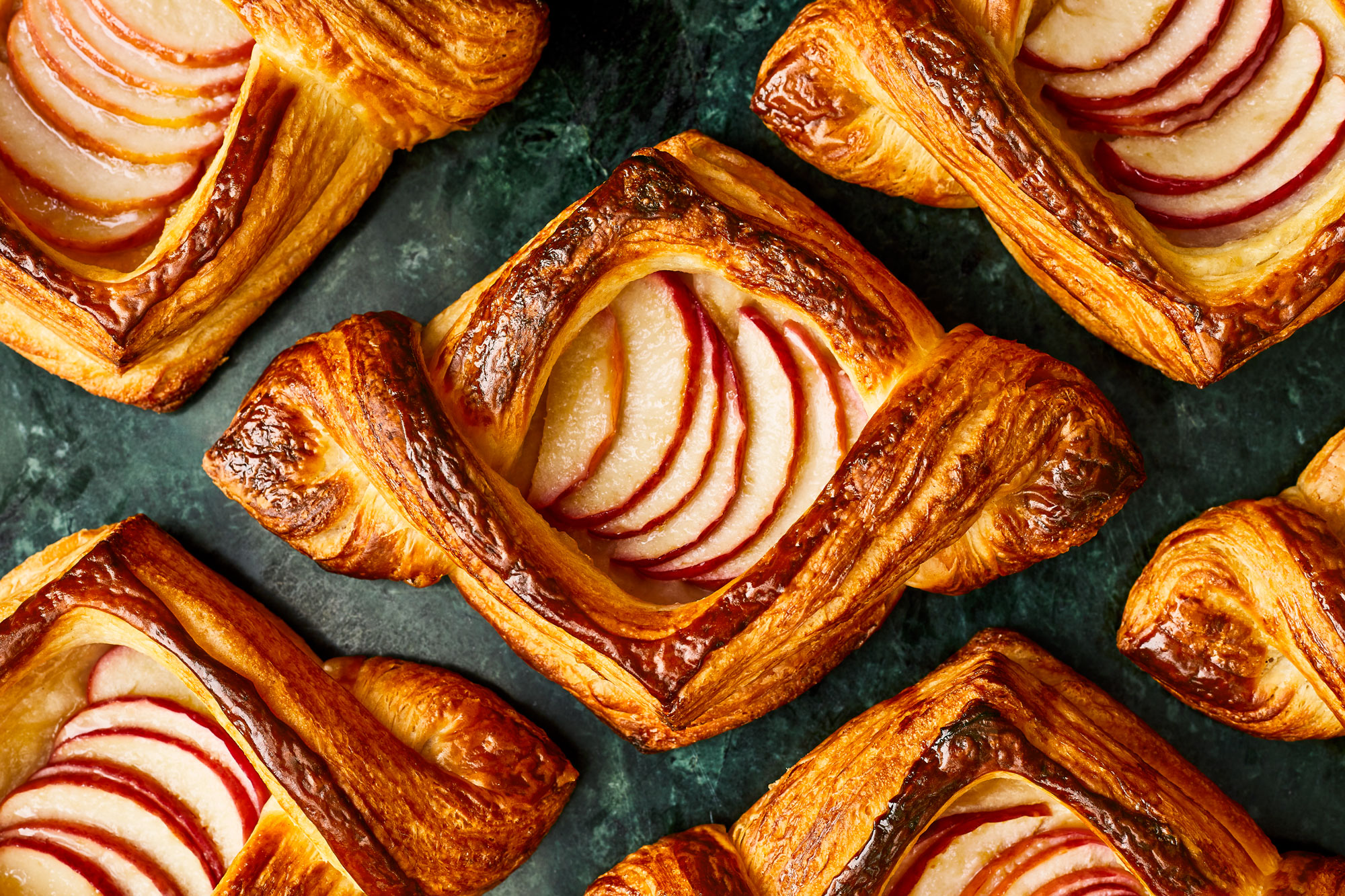 Miso Caramel Apple Danish