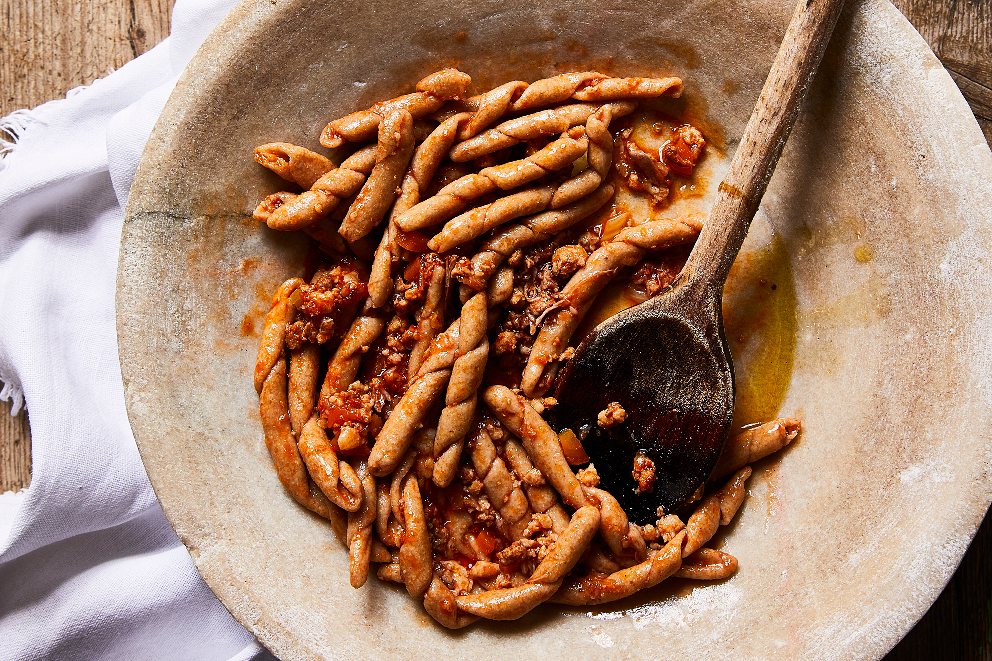 Busiate with Pork Ragu