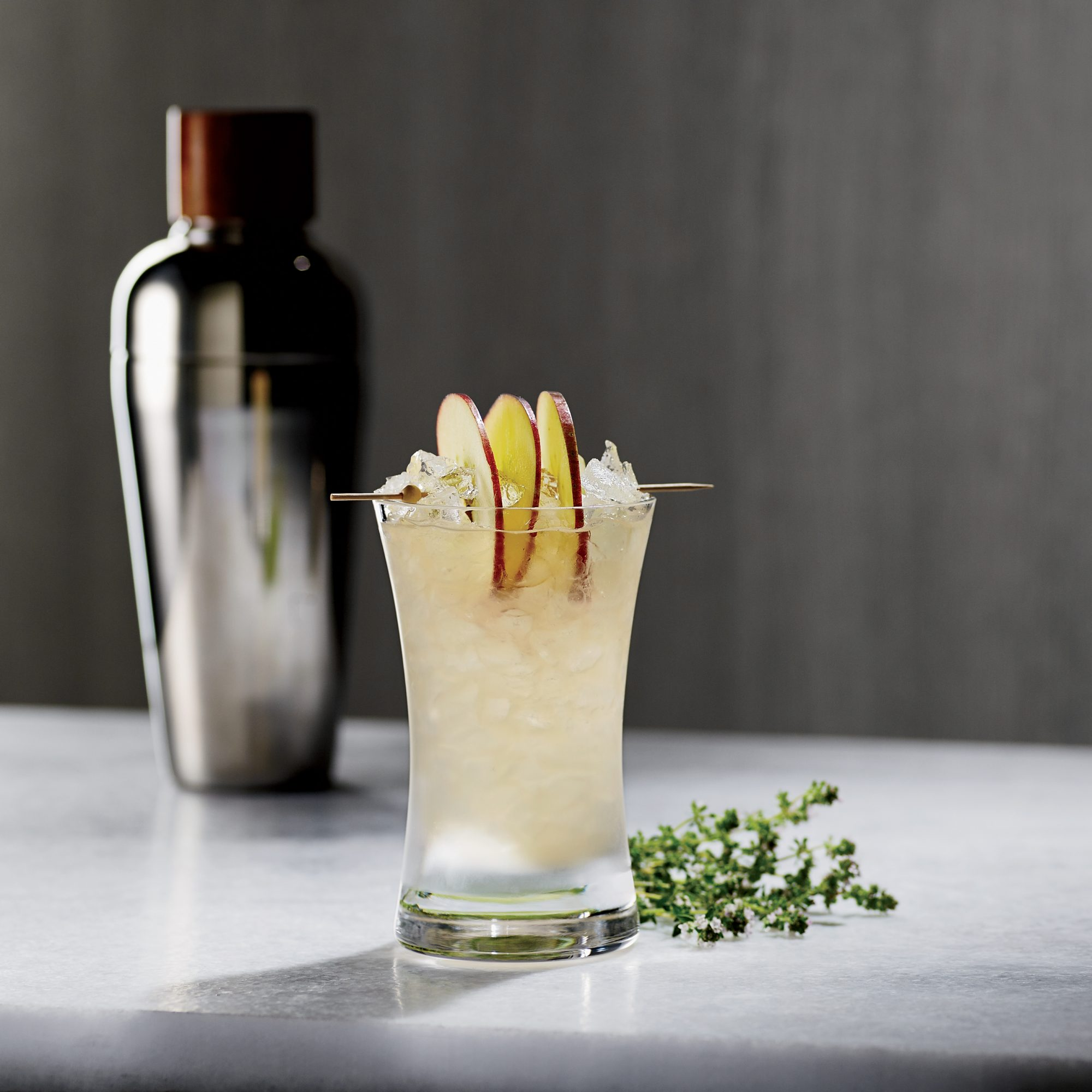 Tyler Stevens adds heft to this vodka drink with sherry and Génépy des Alpes.
