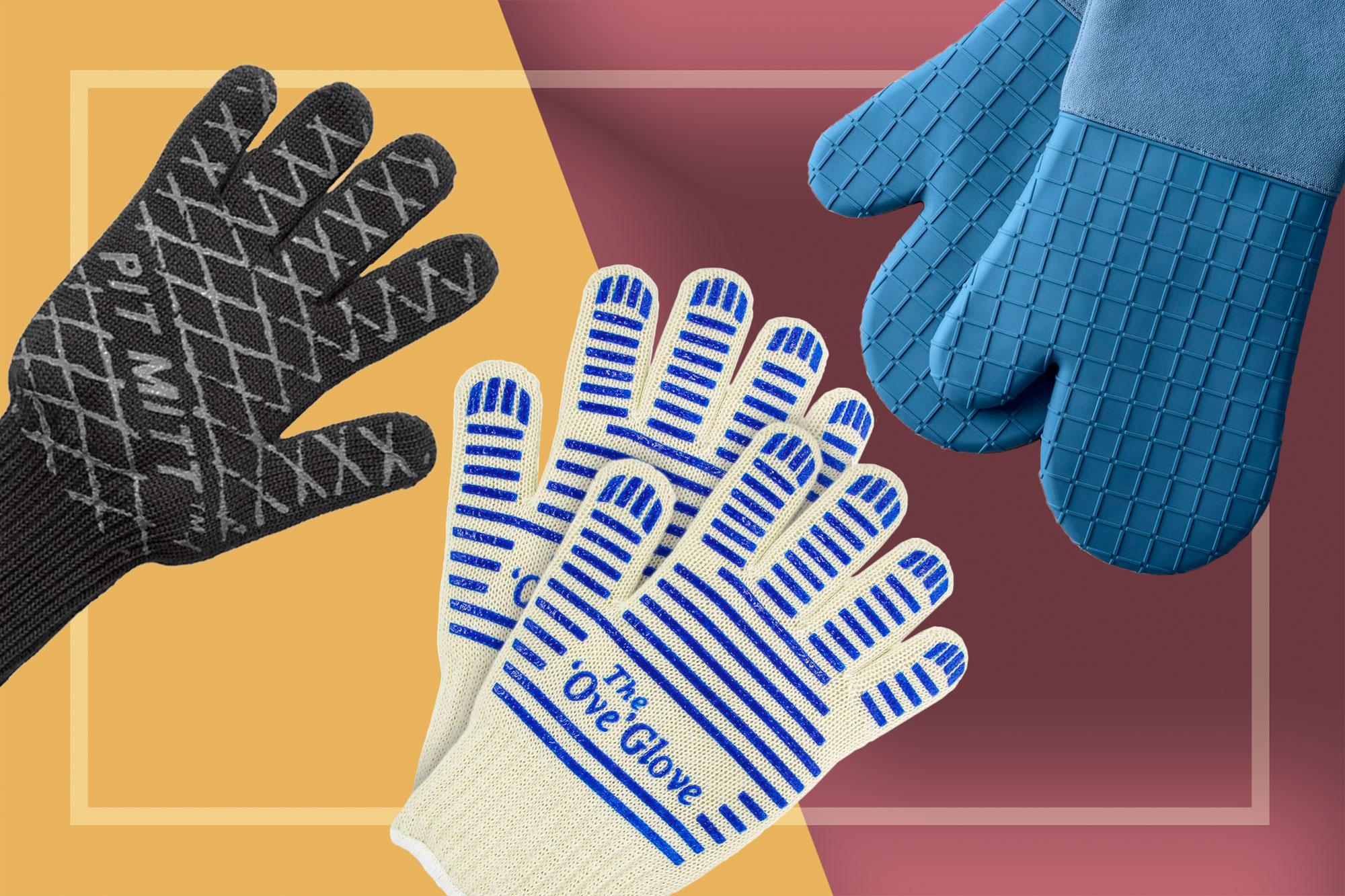 "Pit Mitt, The ""Ove"" Glove, and Food52 Oven Mitts"