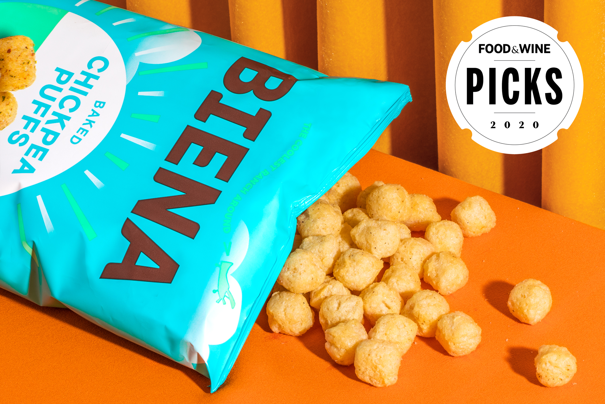 Biena Ranch Flavored Chickpea Puffs