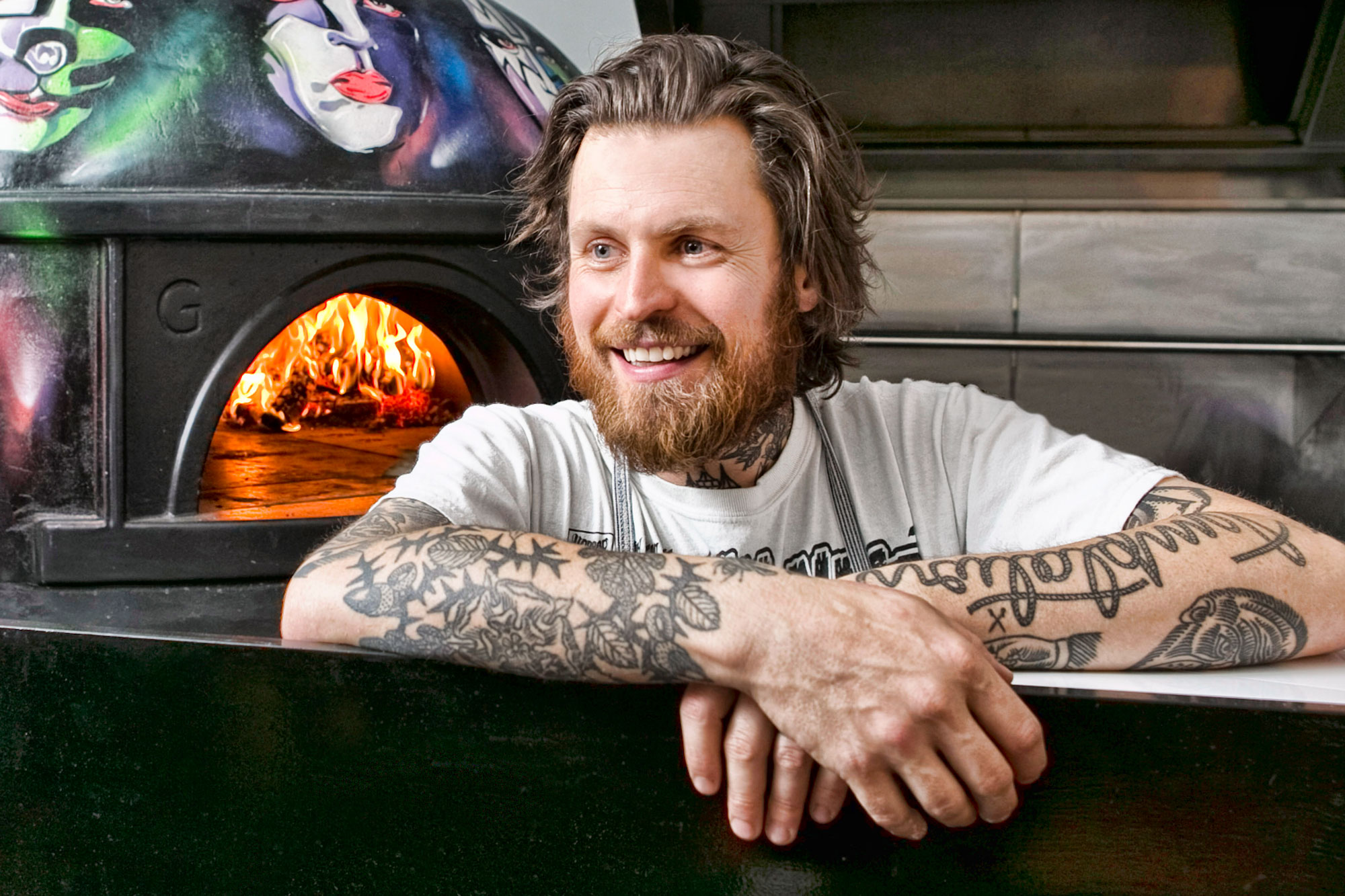 Portrait of Chef Lee Tiernan